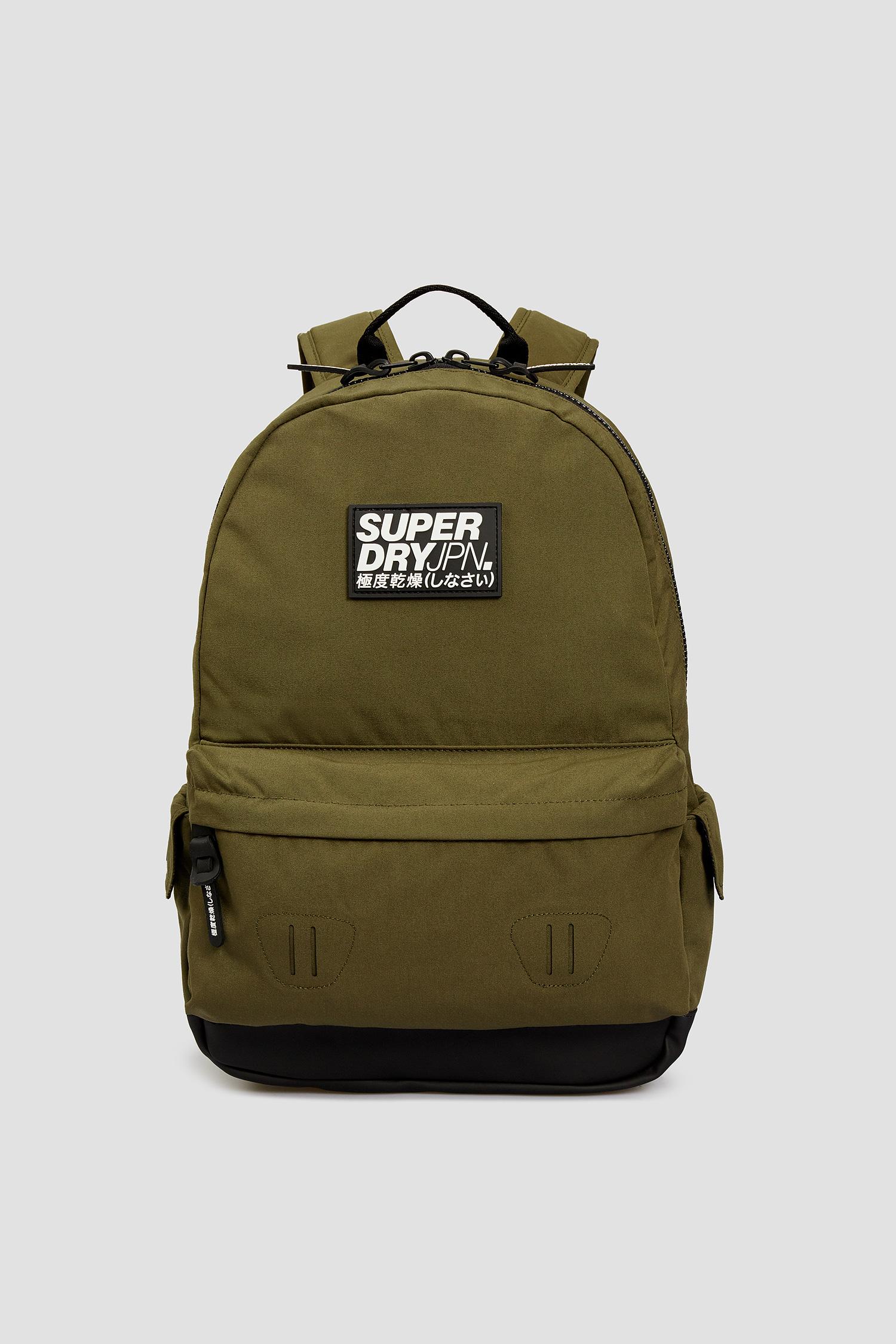 Мужской зеленый рюкзак SuperDry M9110057A;S0R