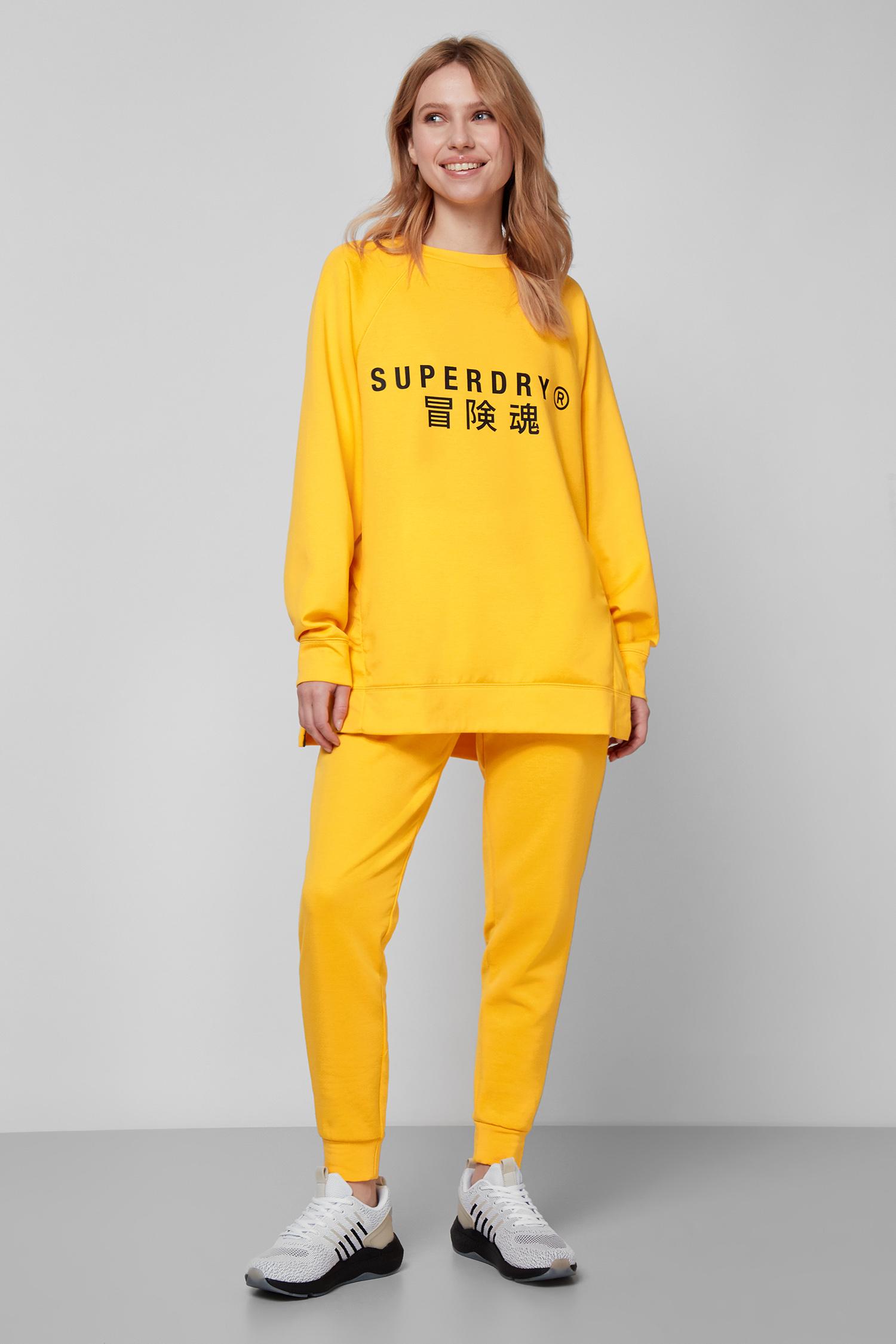Женский желтый свитшот SuperDry WS310432A;K1K