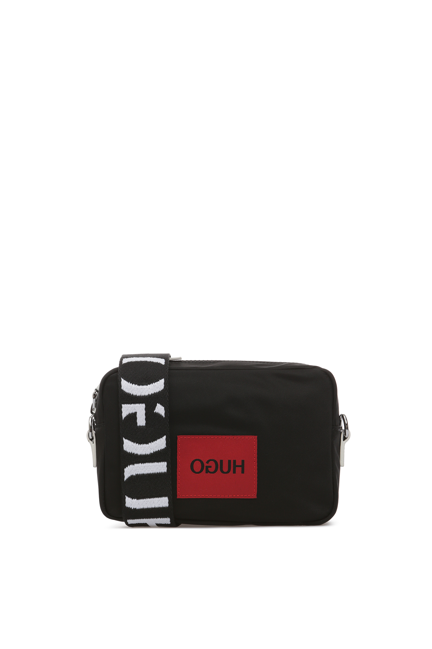Женская черная сумка через плечо HUGO 50419347;003
