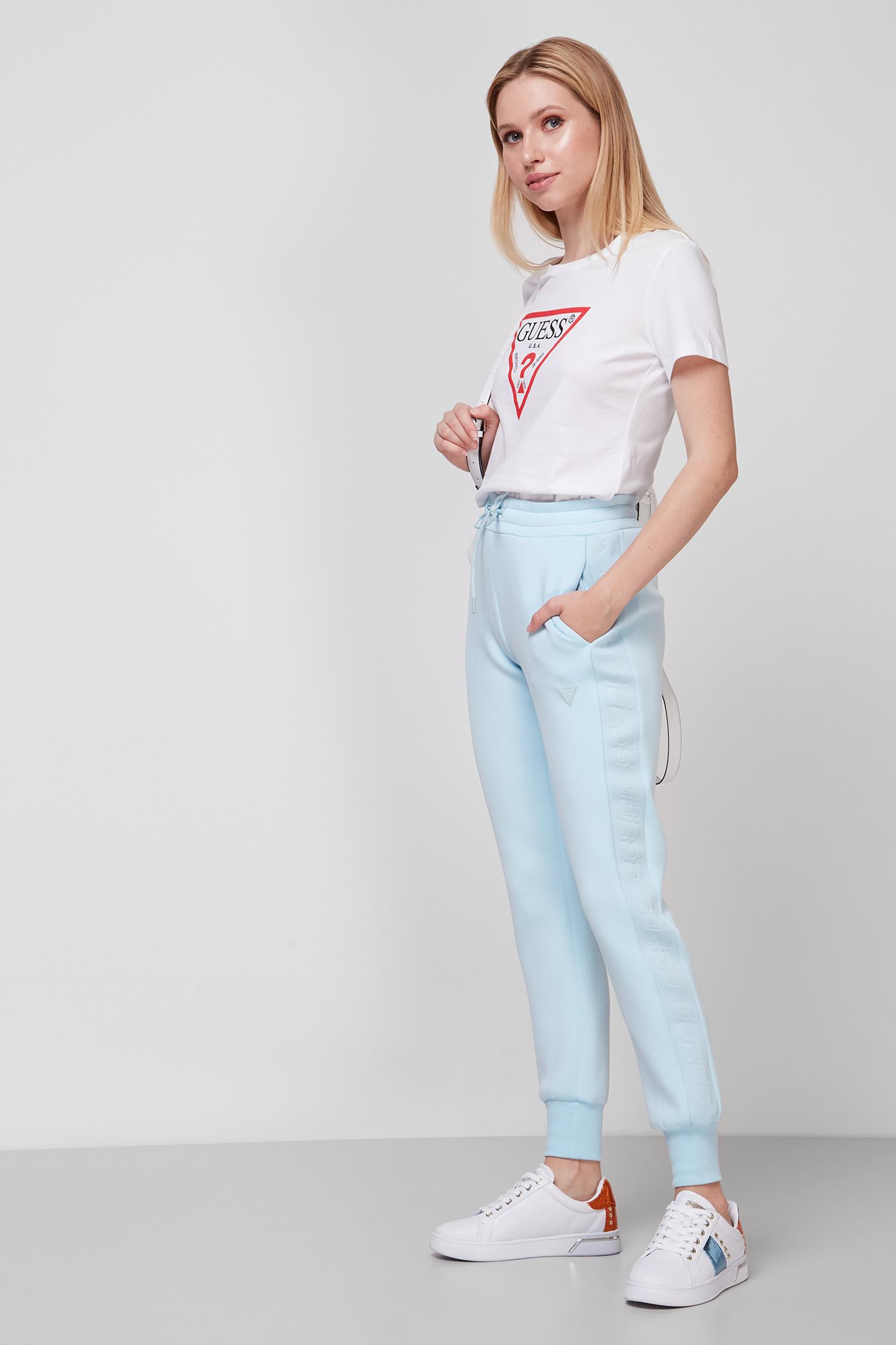 Жіноча біла футболка Guess W1YI1B.I3Z11;G011