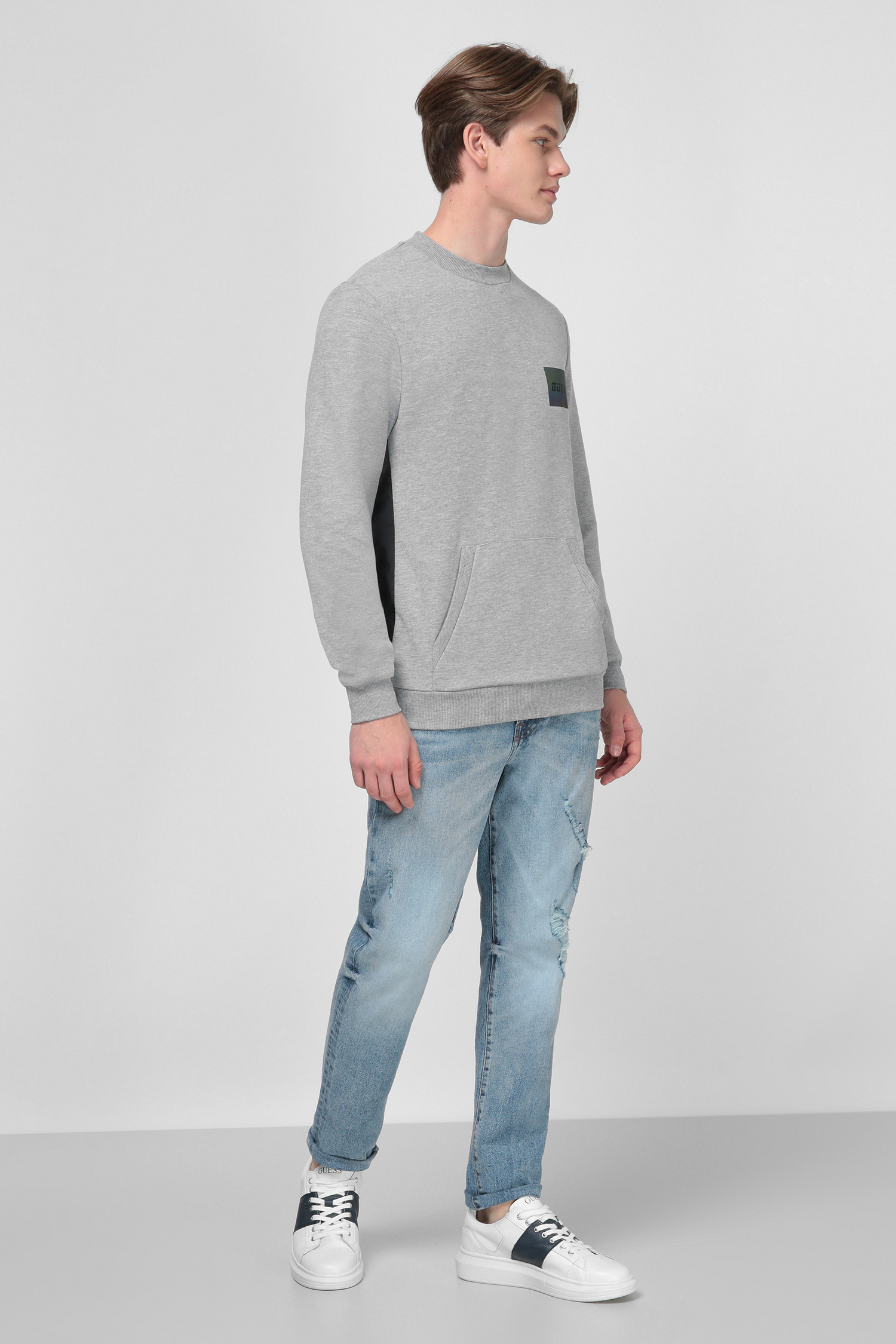 Голубые джинсы для парней Guess M0YA37.D4323;SSTA