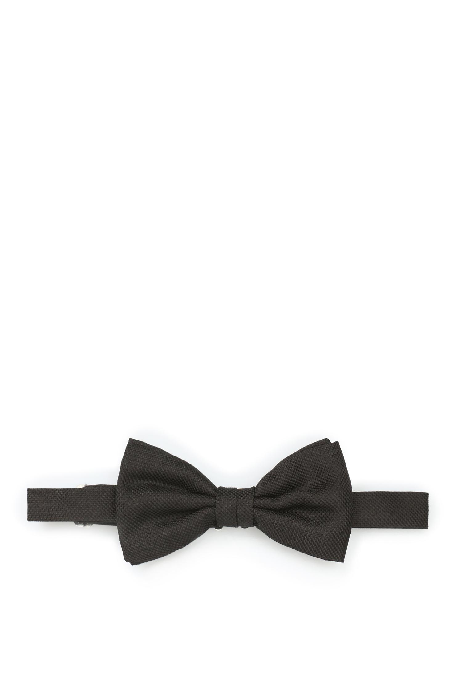 Мужская черная шелковая бабочка Karl Lagerfeld 582151.805200;990