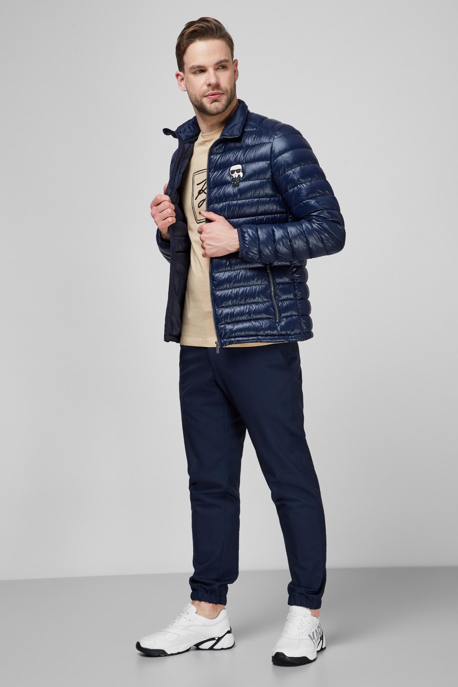 Мужская темно-синяя куртка Karl Lagerfeld 511590.505092;690