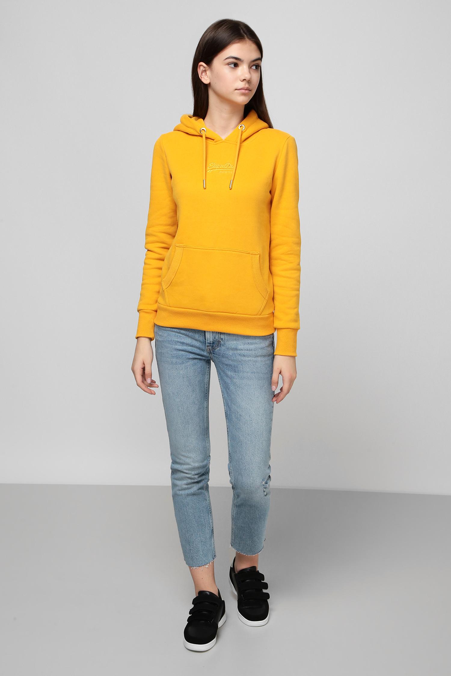 Голубые джинсы для девушек SuperDry W7010142A;4KL