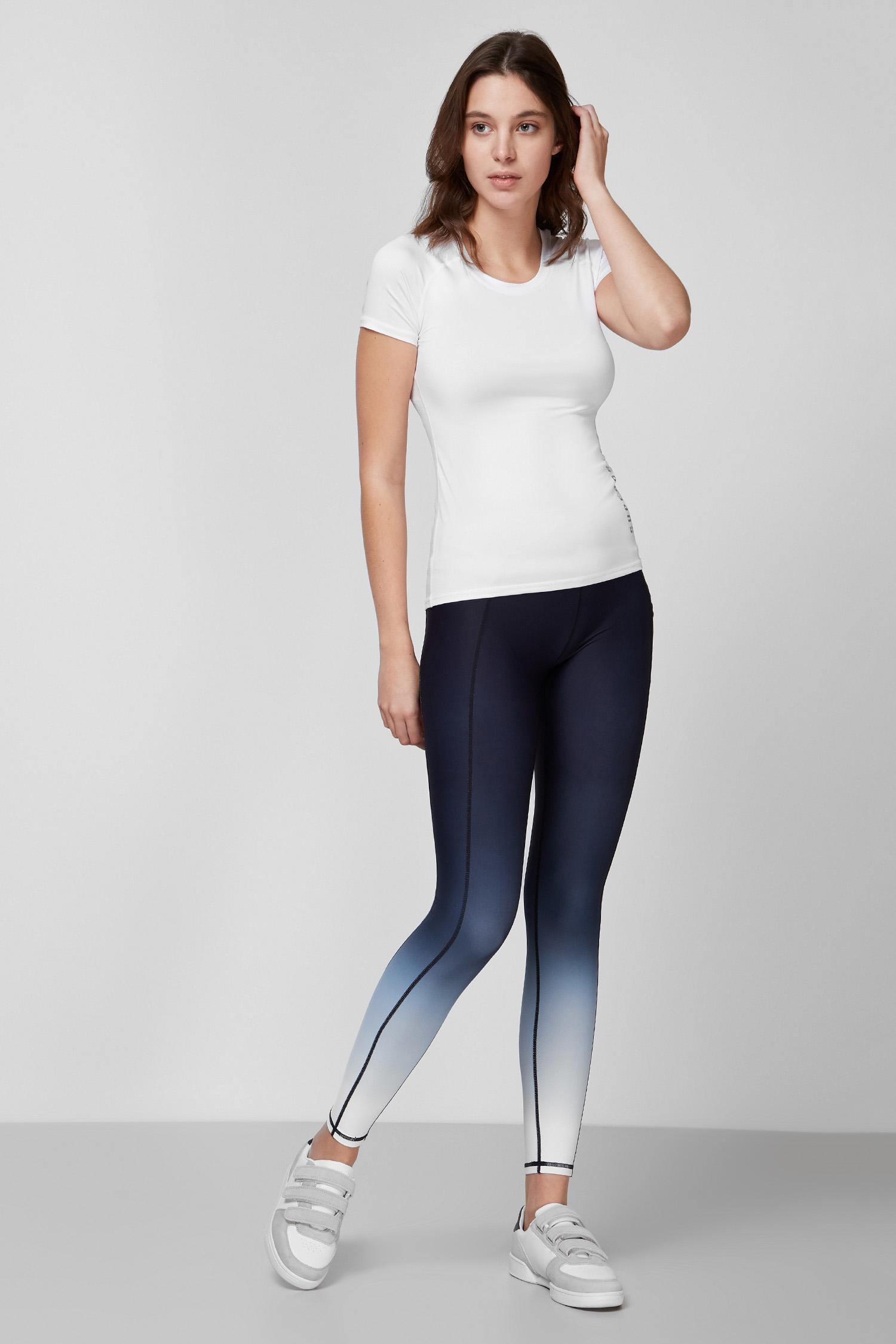 Женская белая футболка SuperDry WS310416A;01C