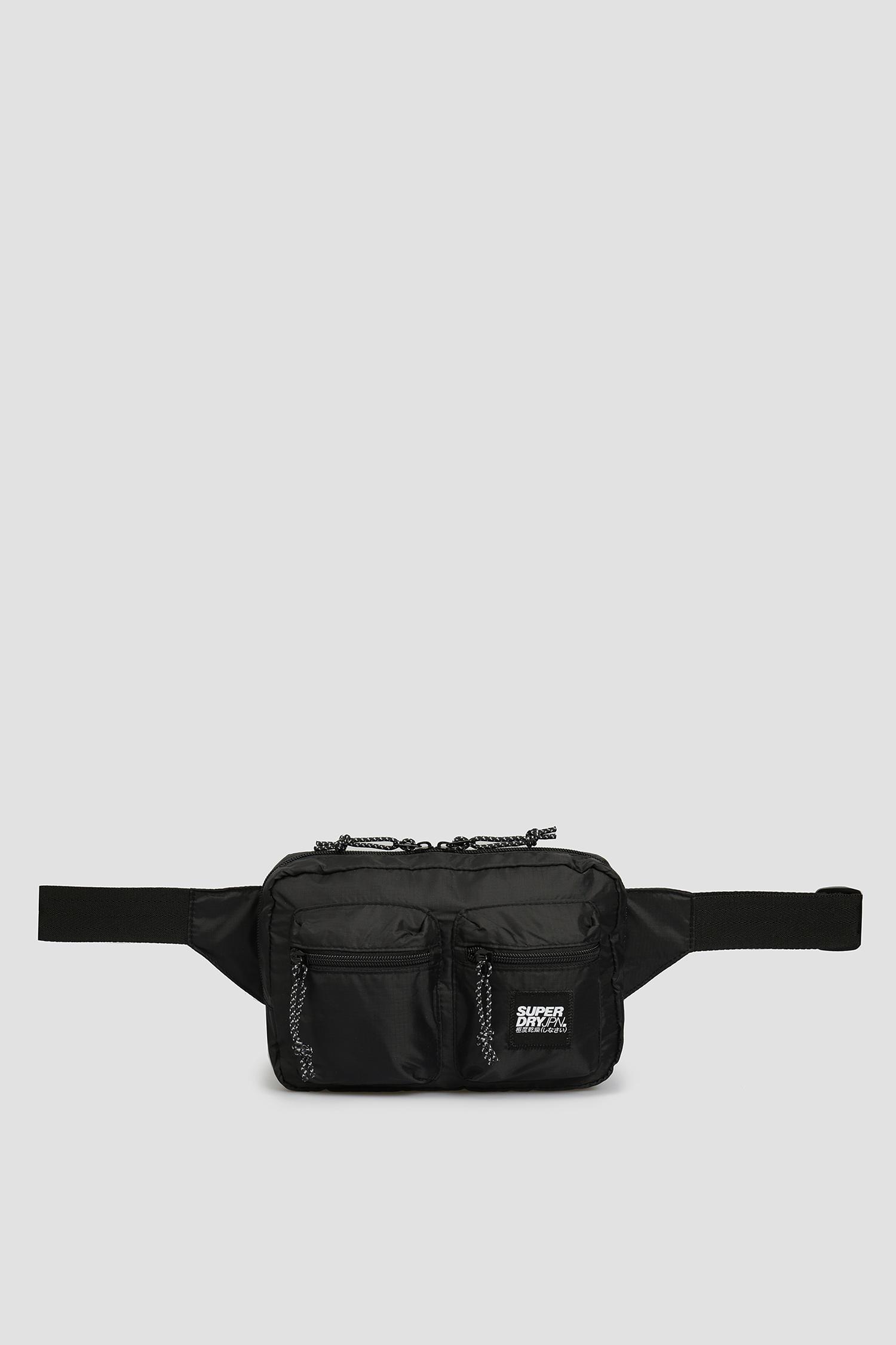 Мужская черная поясная сумка SuperDry M9110003A;02A
