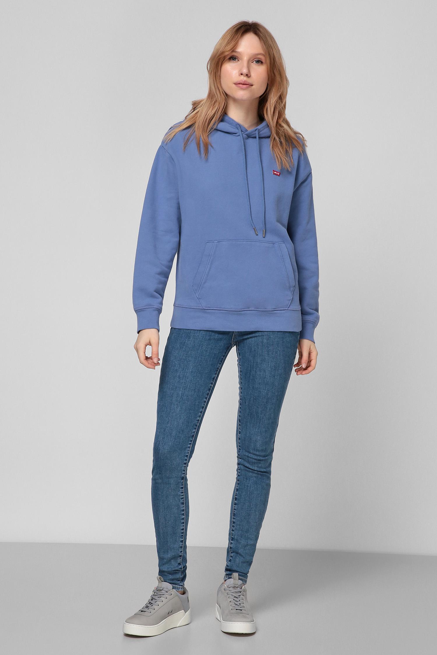 Женское синее худи Levi's 24693;0003