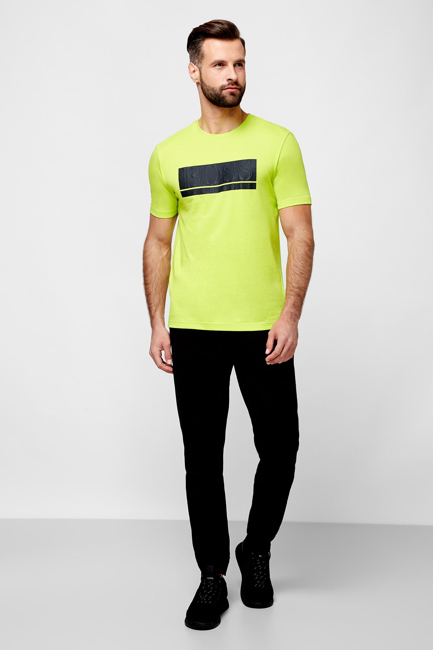 Мужские черные спортивные брюки BOSS 50410320;001