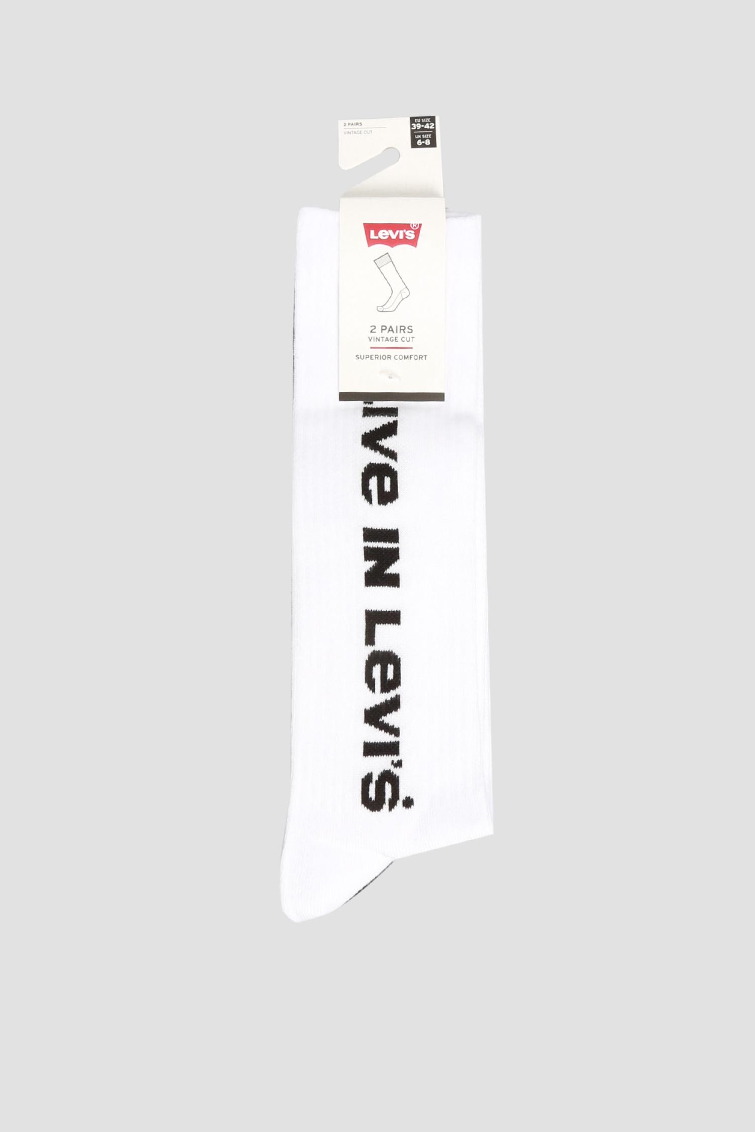 Хлопковые носки (2 пары) Levi's 903018001;001