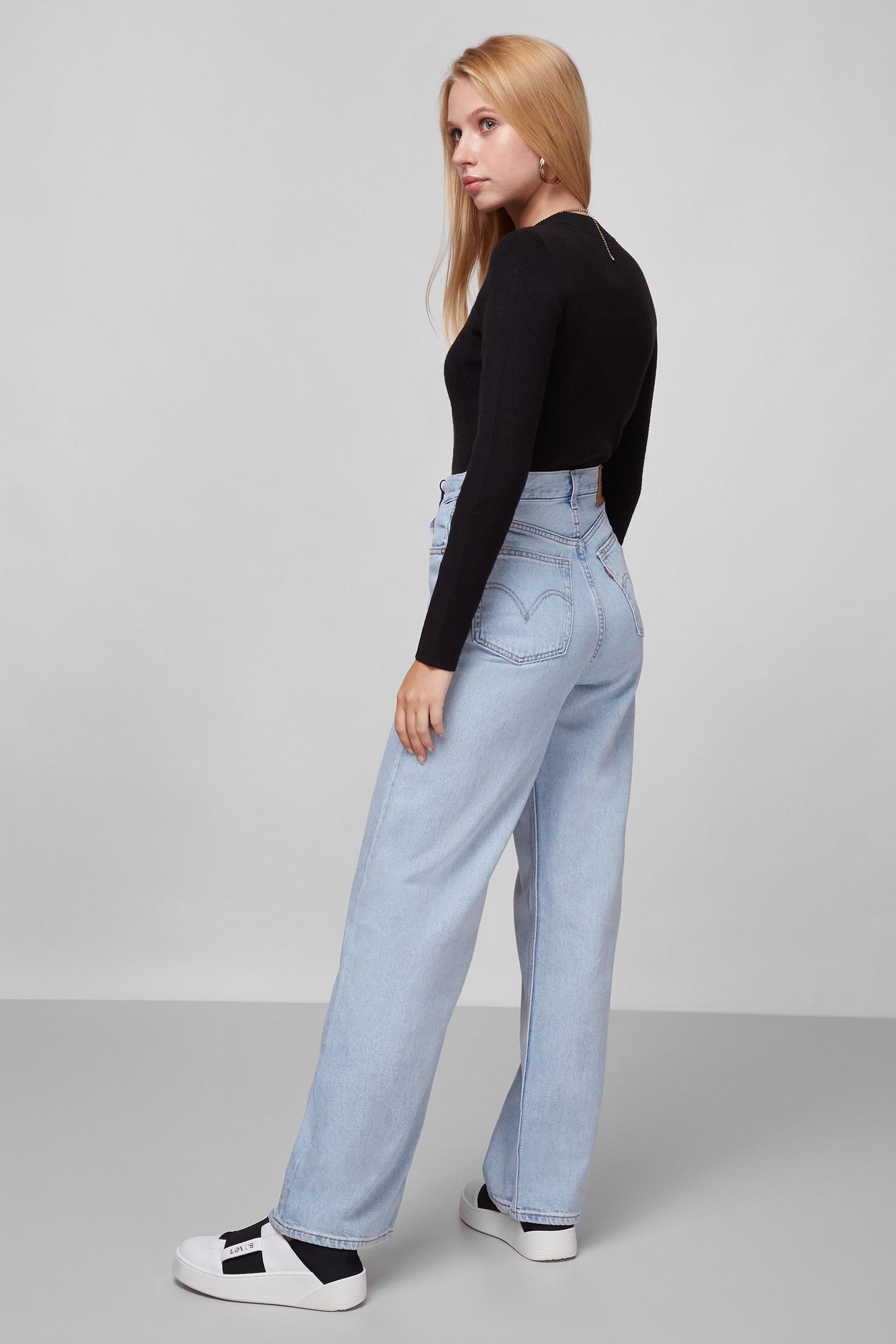 Женские голубые джинсы High Loose Levi's 26872;0001