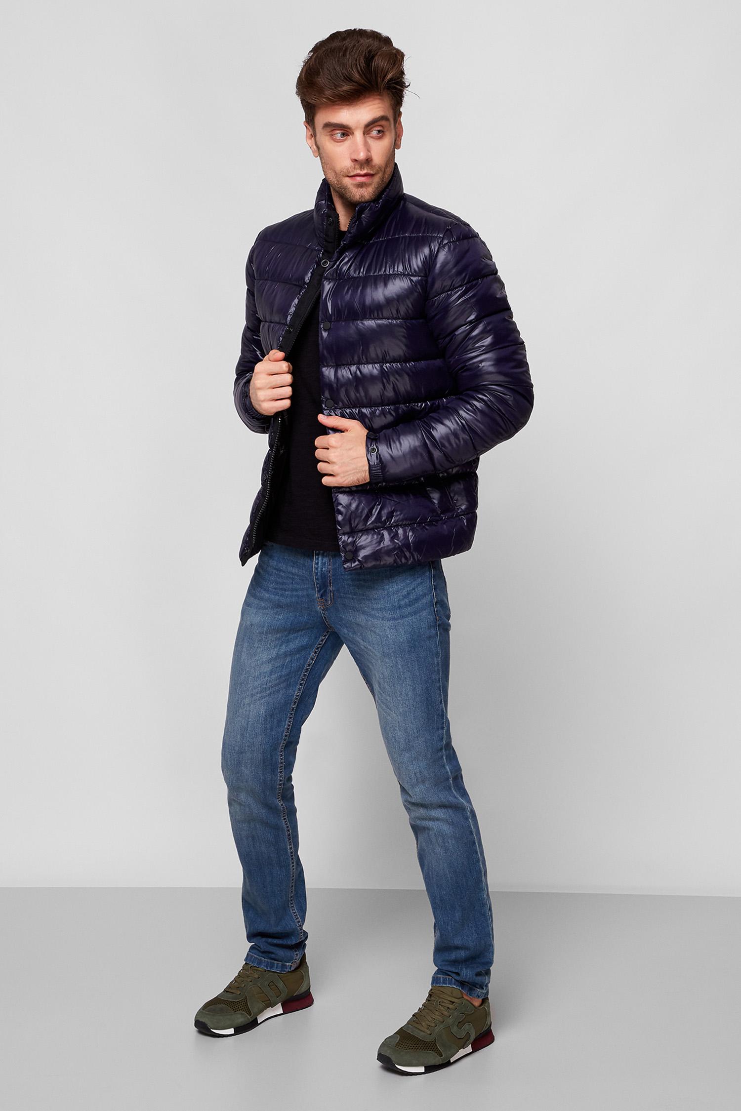 Мужская темно-синяя куртка SuperDry M5010414A;09S