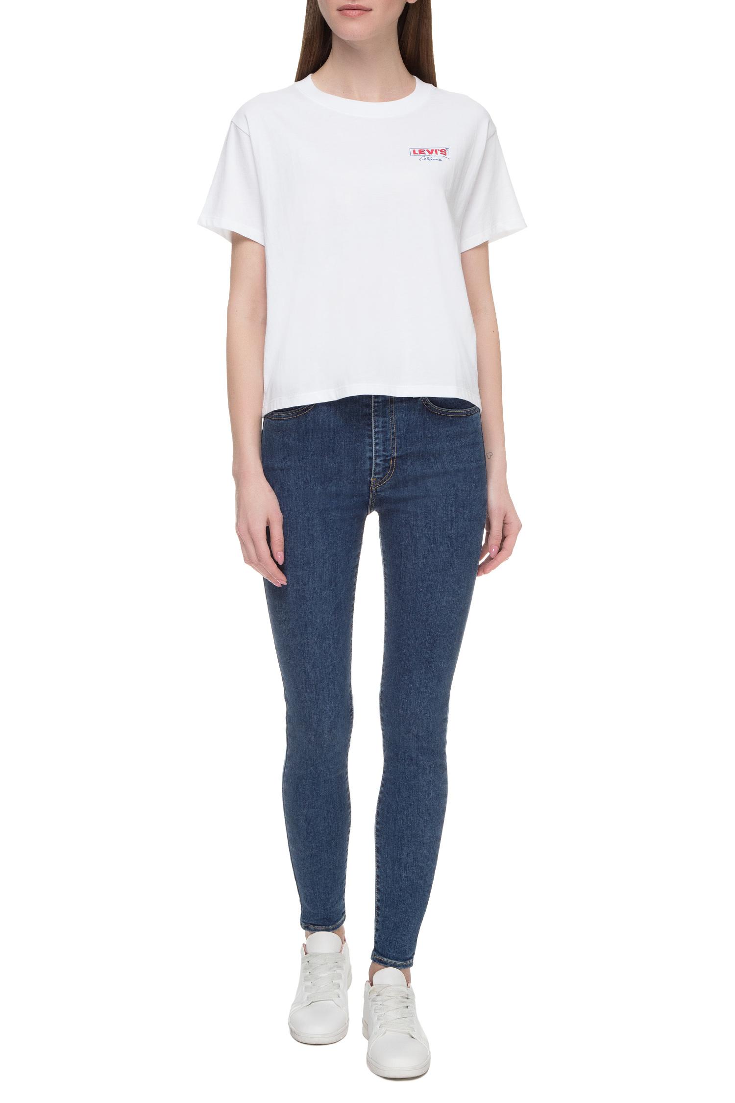 Женская белая футболка Levi's 69973;0076