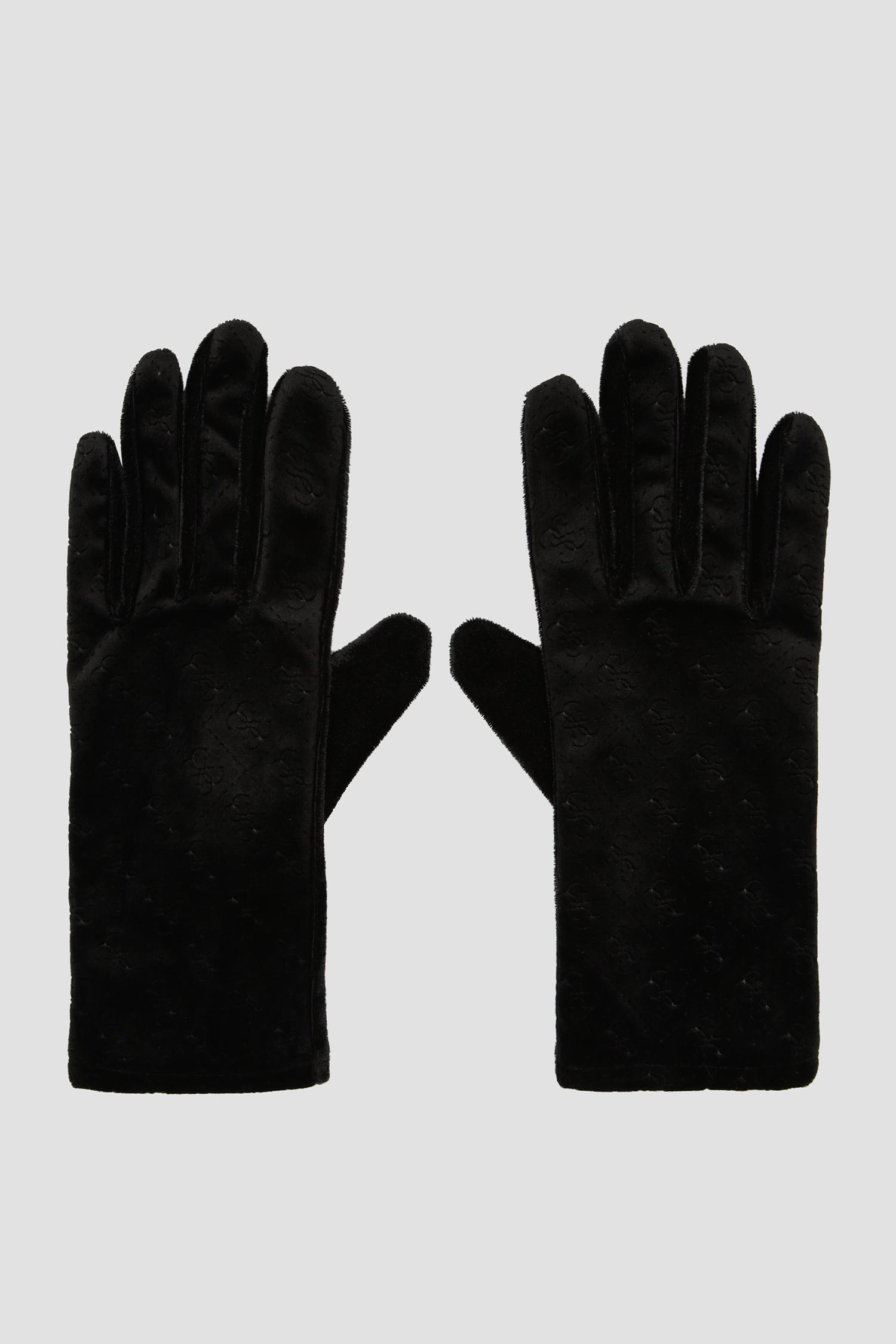 Женские черные перчатки Guess AW8514.POL02;BLA