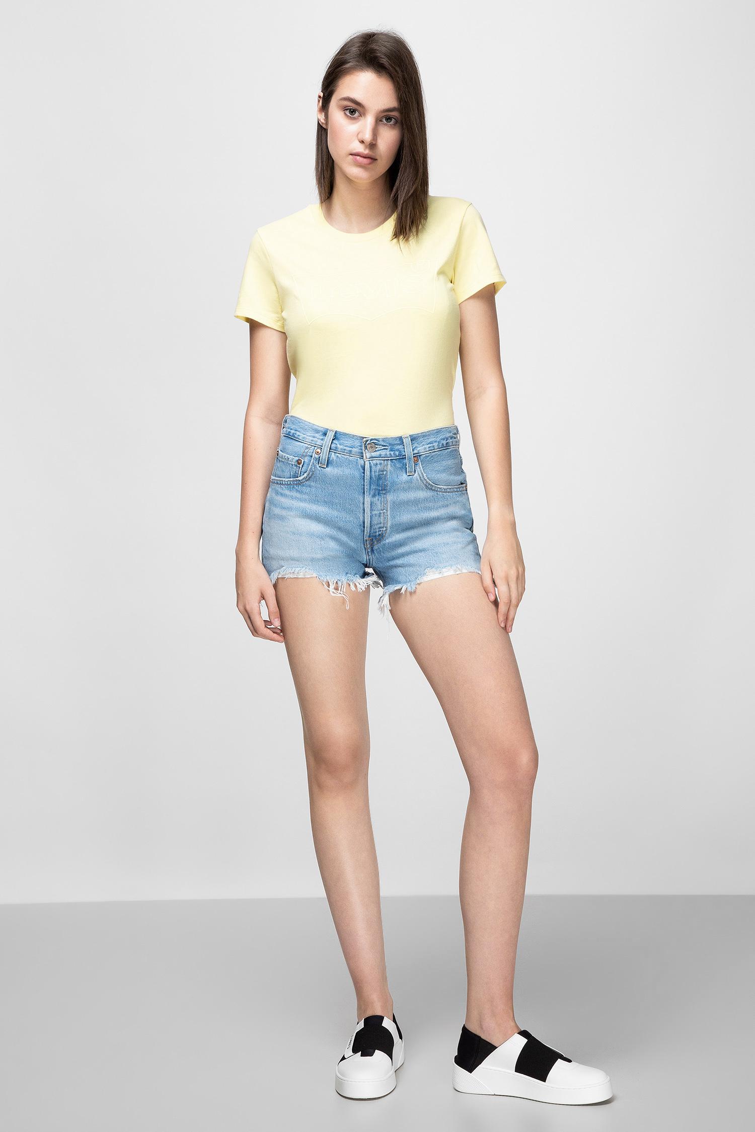 Женская желтая футболка Levi's 17369;1182