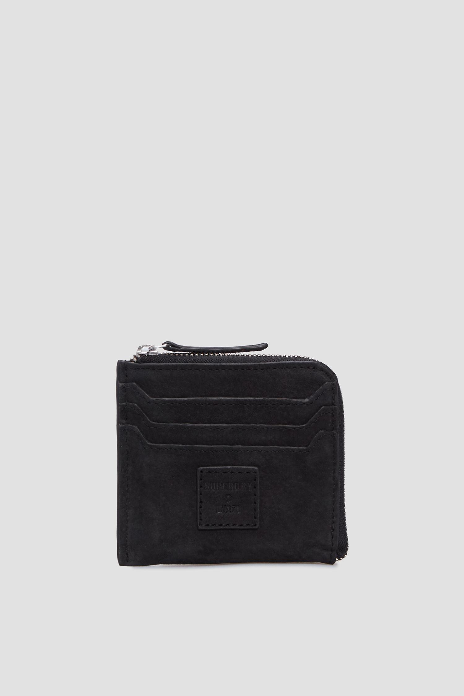 Черный замшевый кошелек для девушек SuperDry W9810043A;IFC