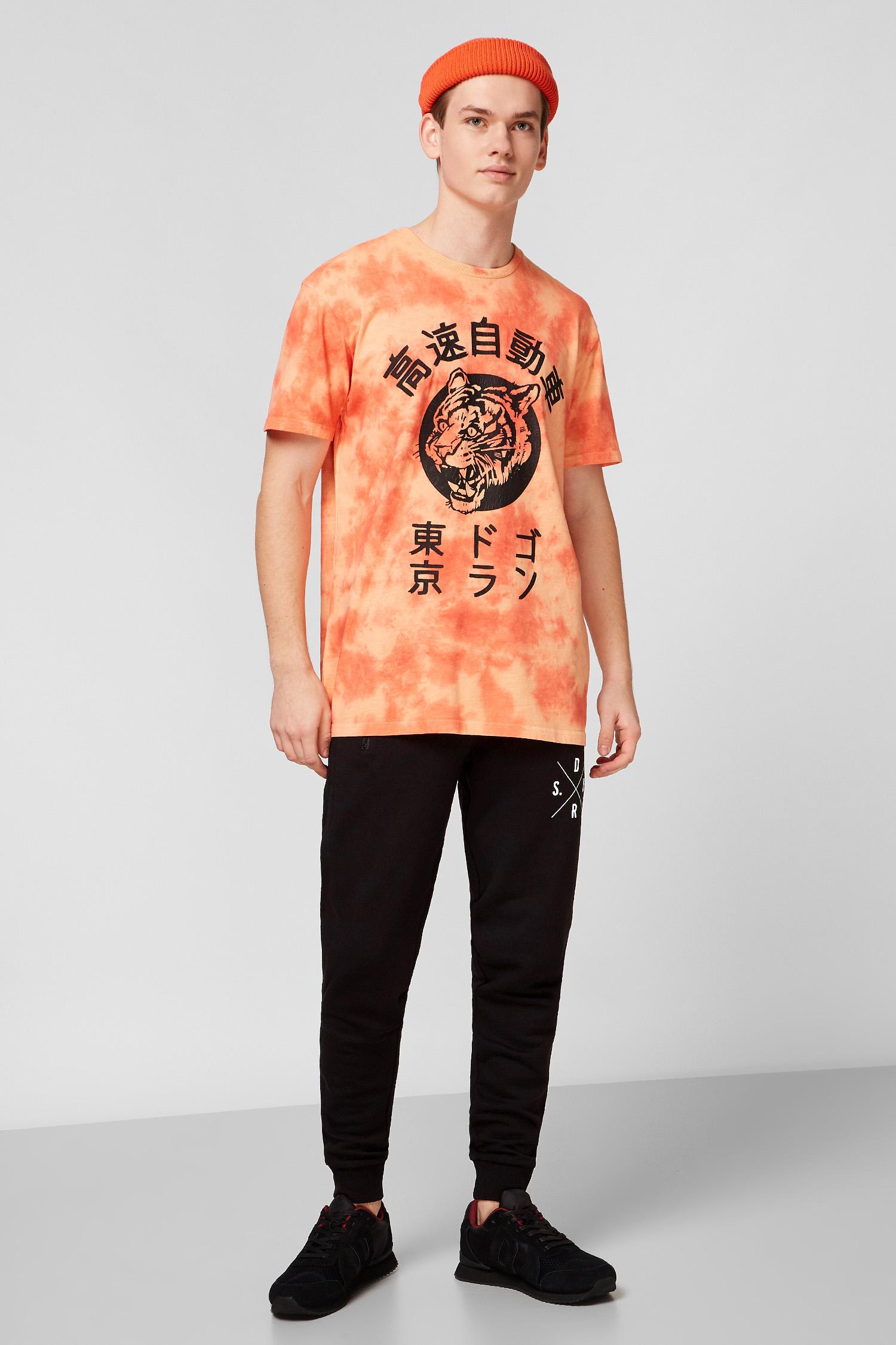 Персиковая футболка для парней SuperDry M1010263A;MRN