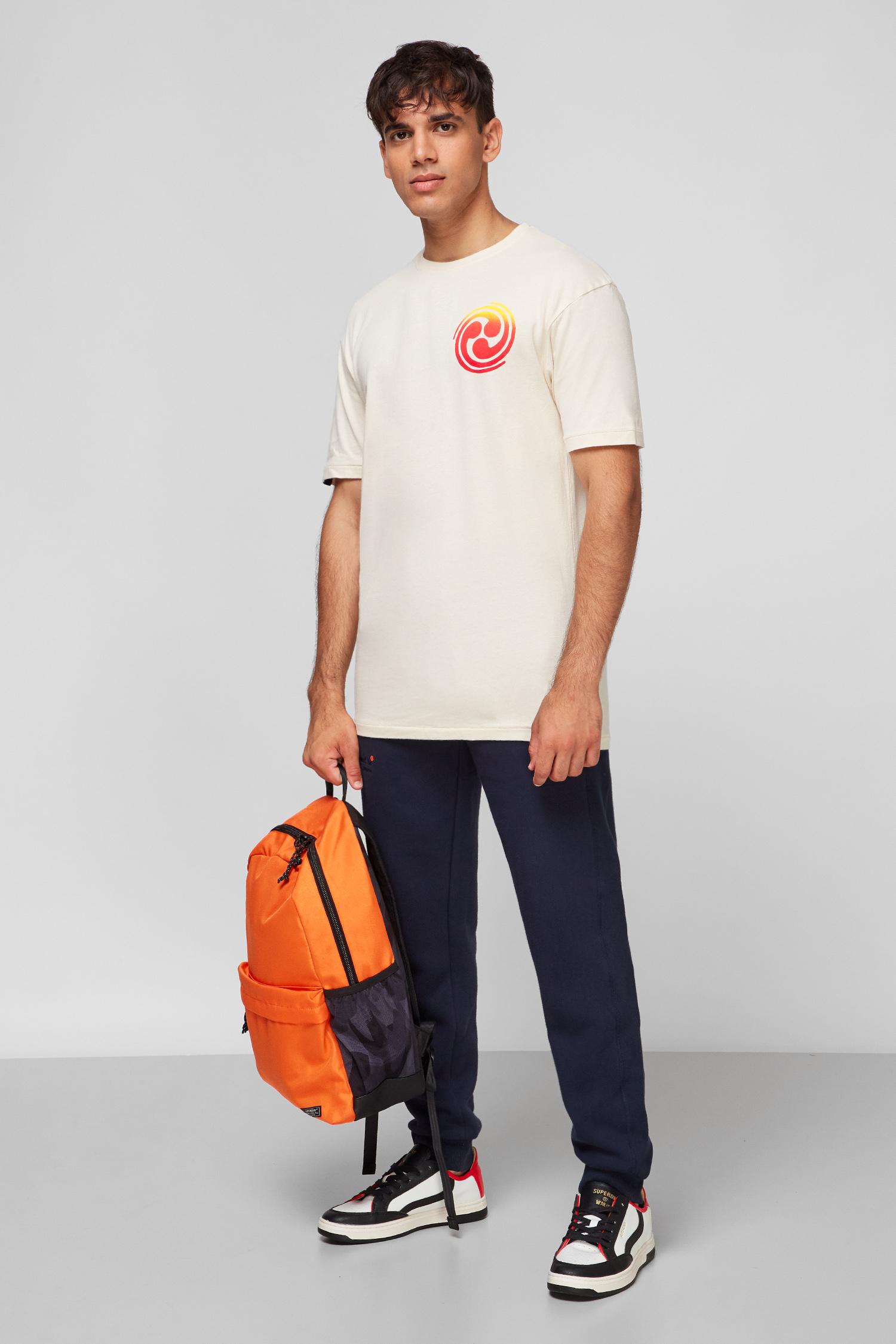 Чоловіча бежева футболка SuperDry M1010909A;9SH