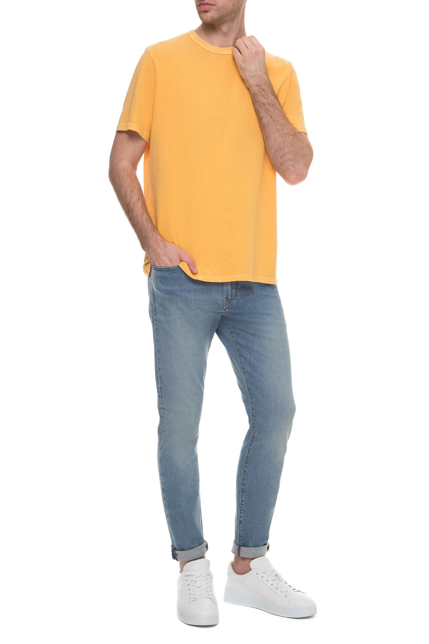 Мужская желтая футболка Levi's 86592;0002