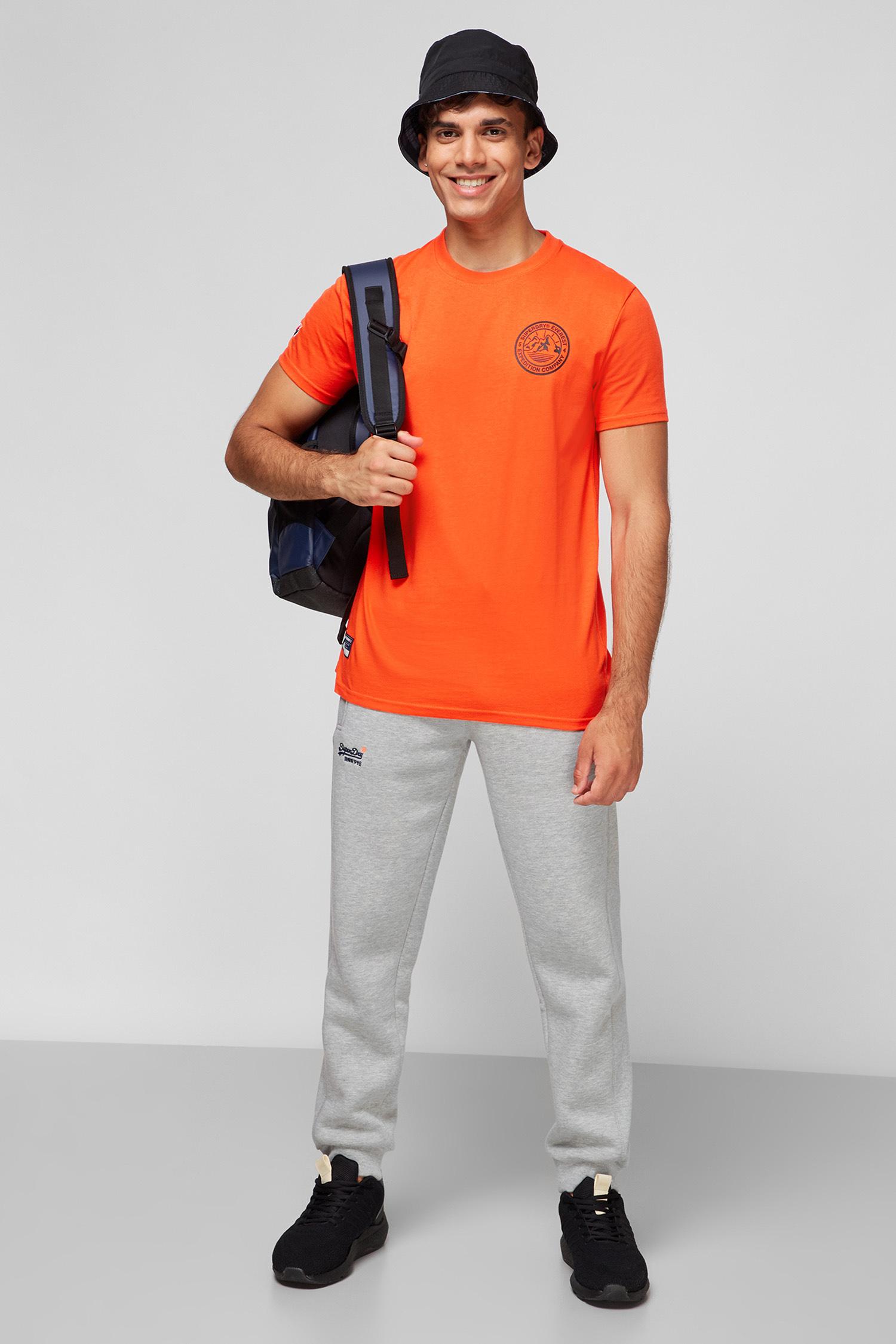 Чоловіча помаранчева футболка SuperDry M1011111A;UM2