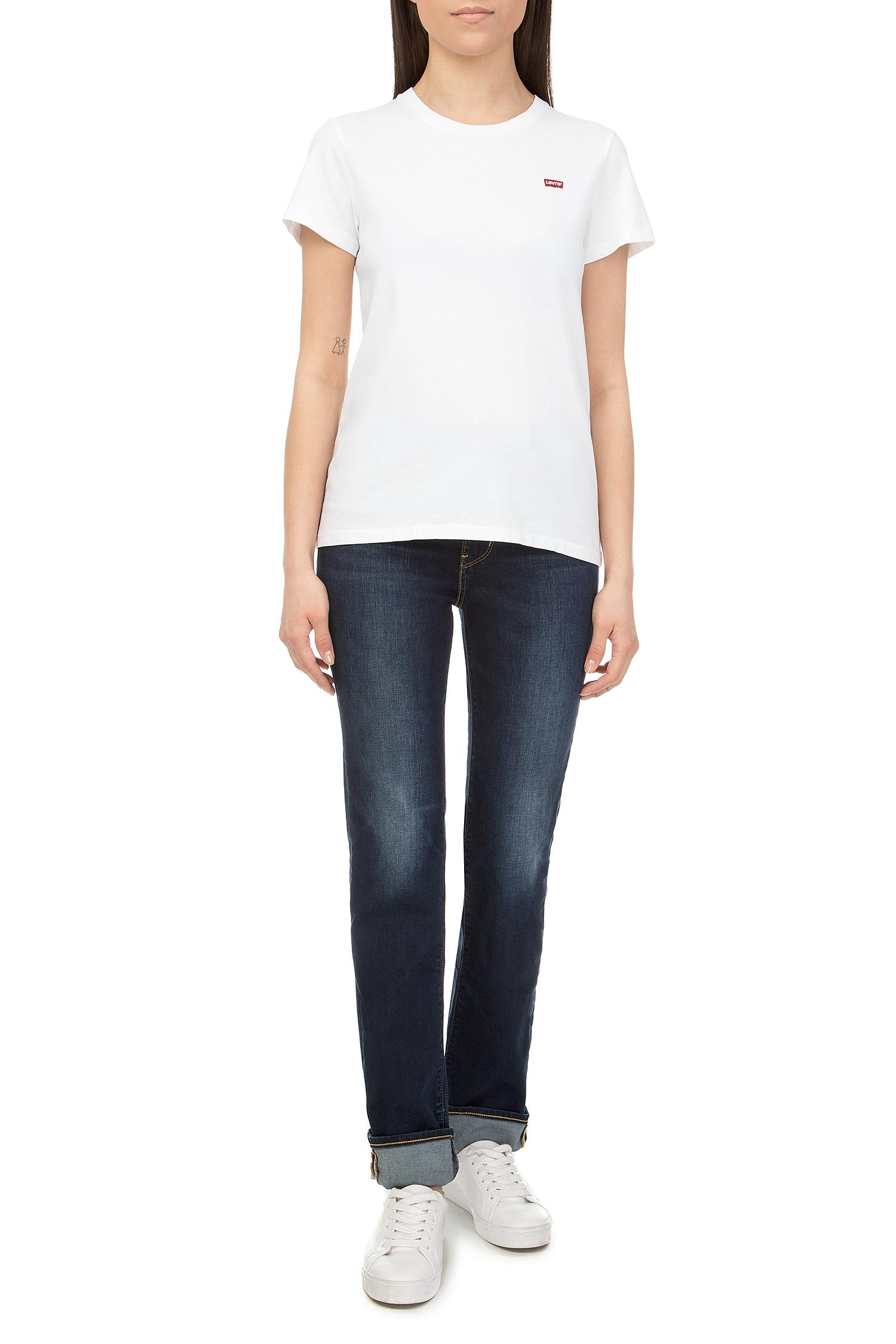 Женская белая футболка Levi's 39185;0006