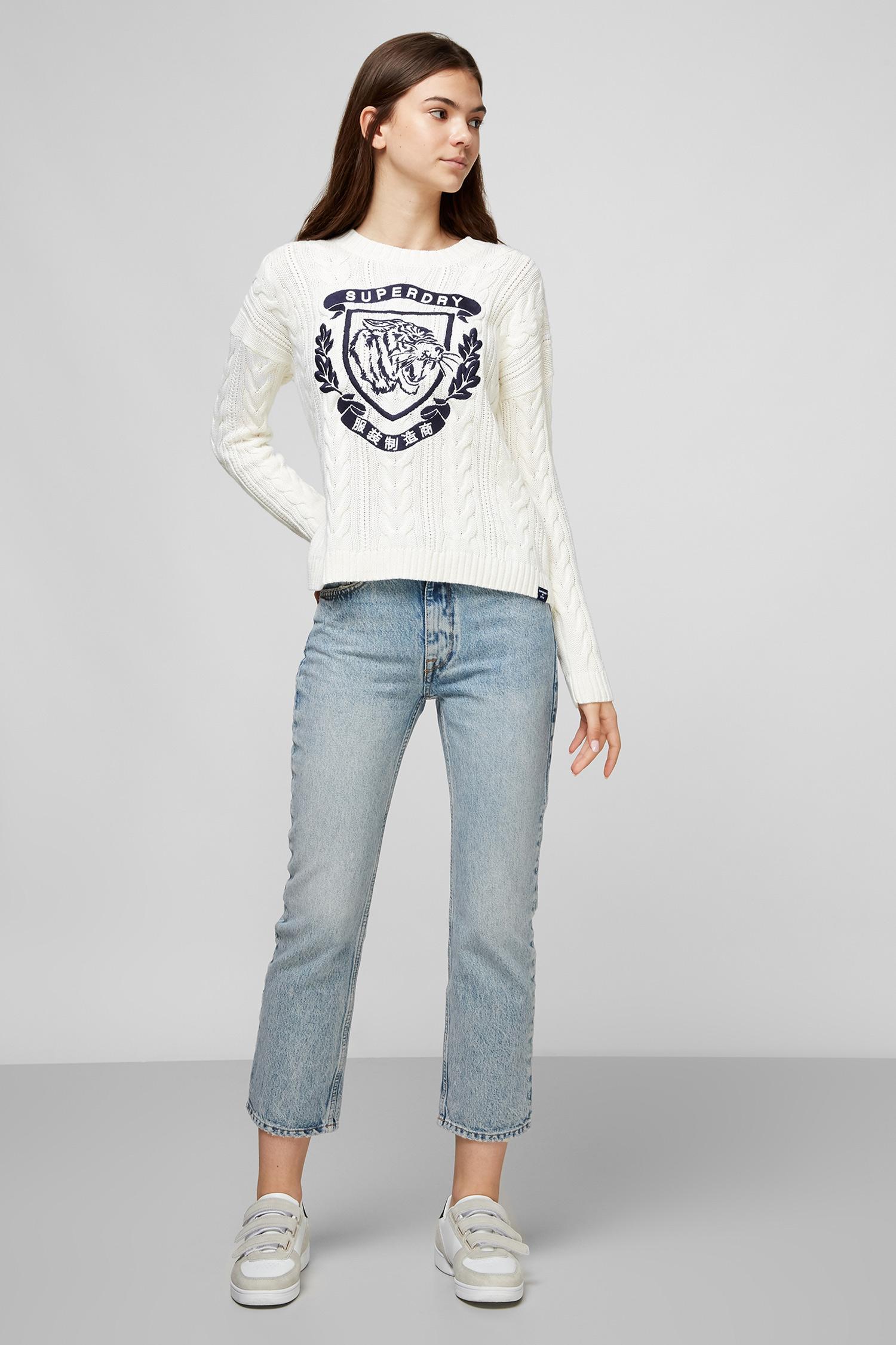 Голубые джинсы для девушек SuperDry W7010078A;O3O