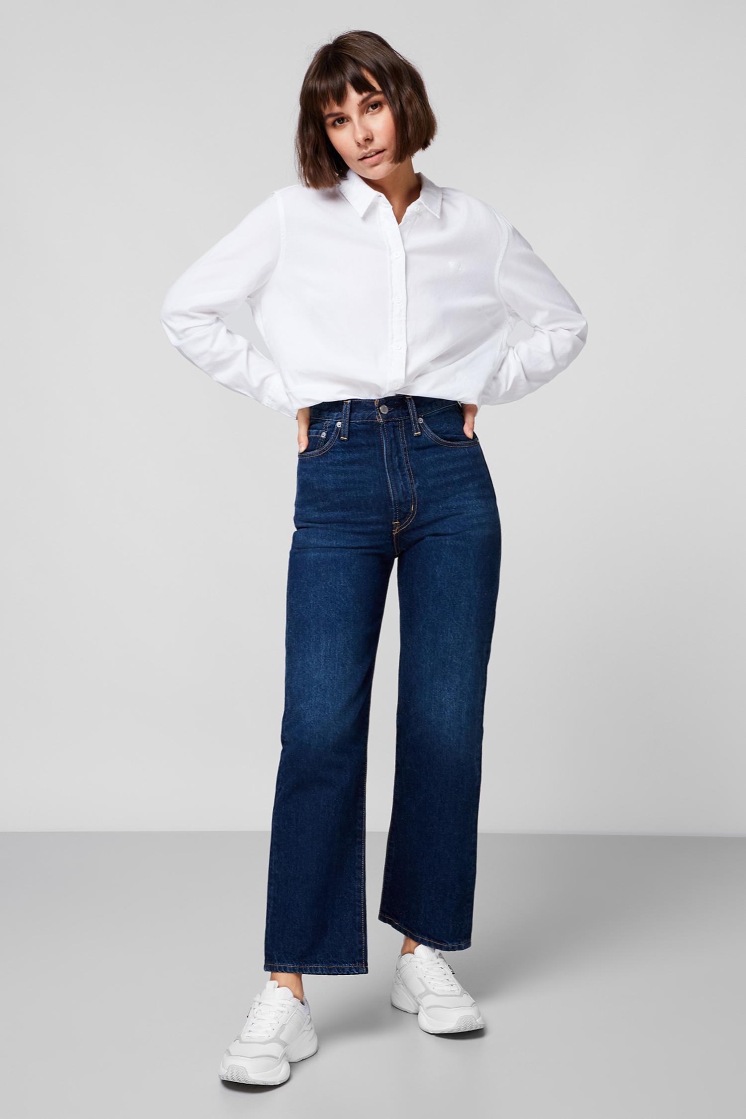 Женская белая рубашка Levi's 34574;0000