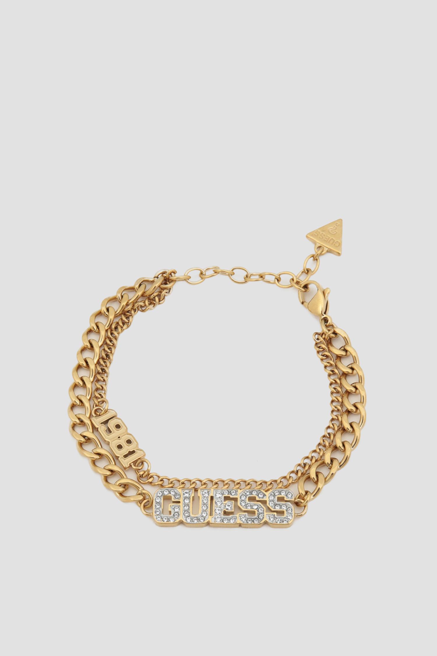 Женский золотистый браслет Guess UBB20034;GL