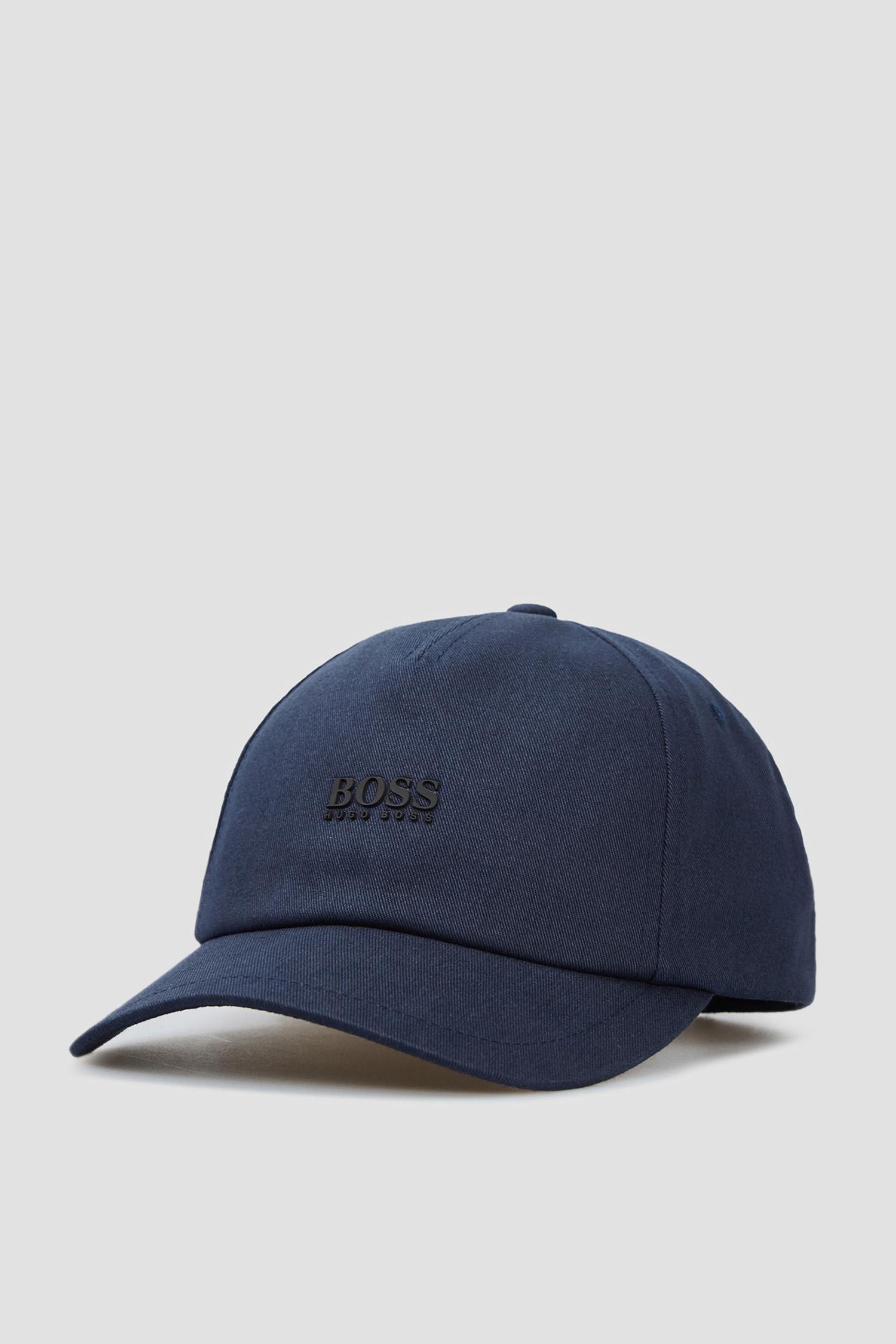 Темно-синя кепка для хлопців BOSS 50448434;404