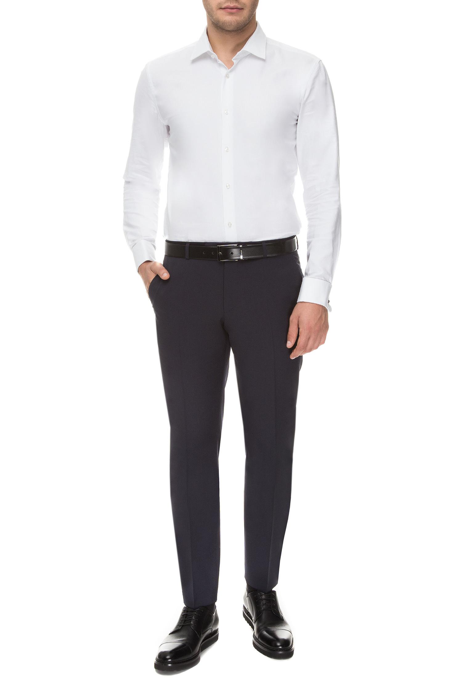 Чоловічі темно-сині брюки BOSS 50318825;401