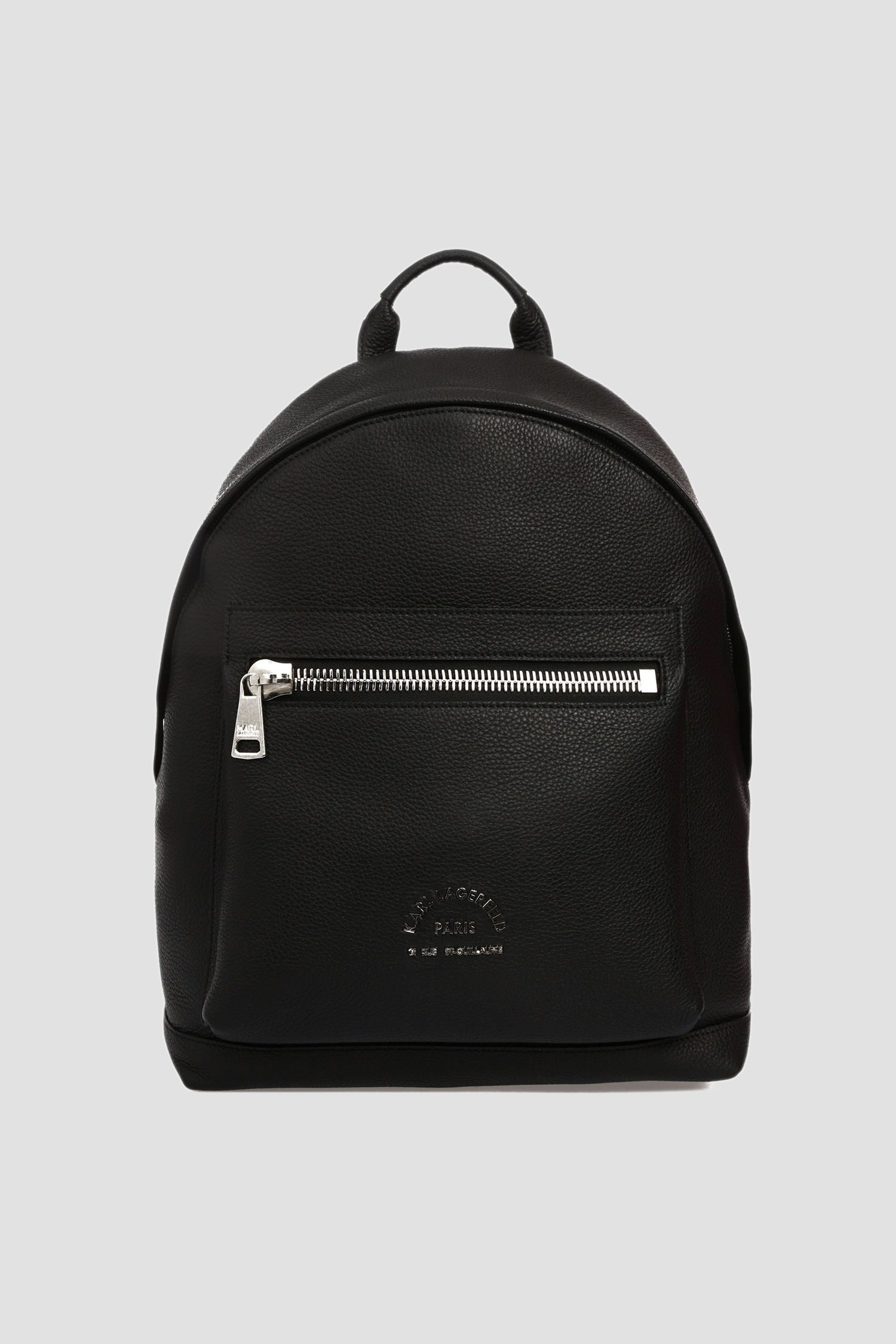 Чоловічий чорний шкіряний рюкзак Karl Lagerfeld 592451.815901;990