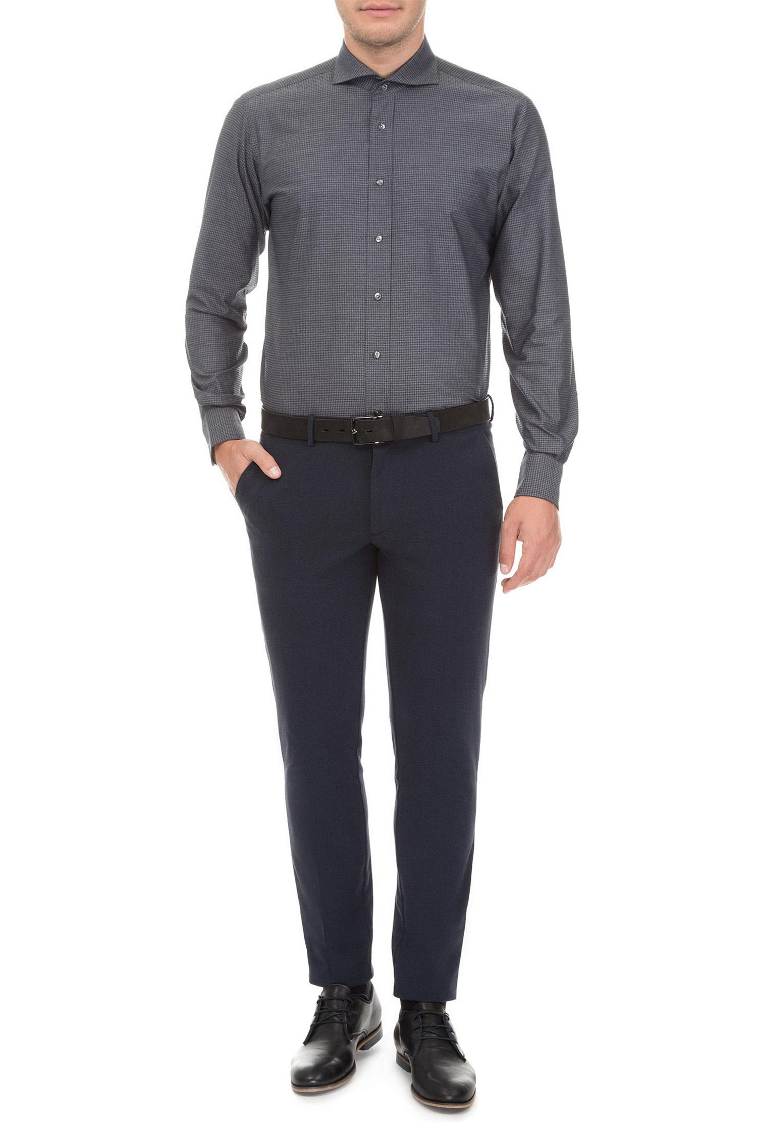 Мужская серая рубашка Karl Lagerfeld 582647.605012;970