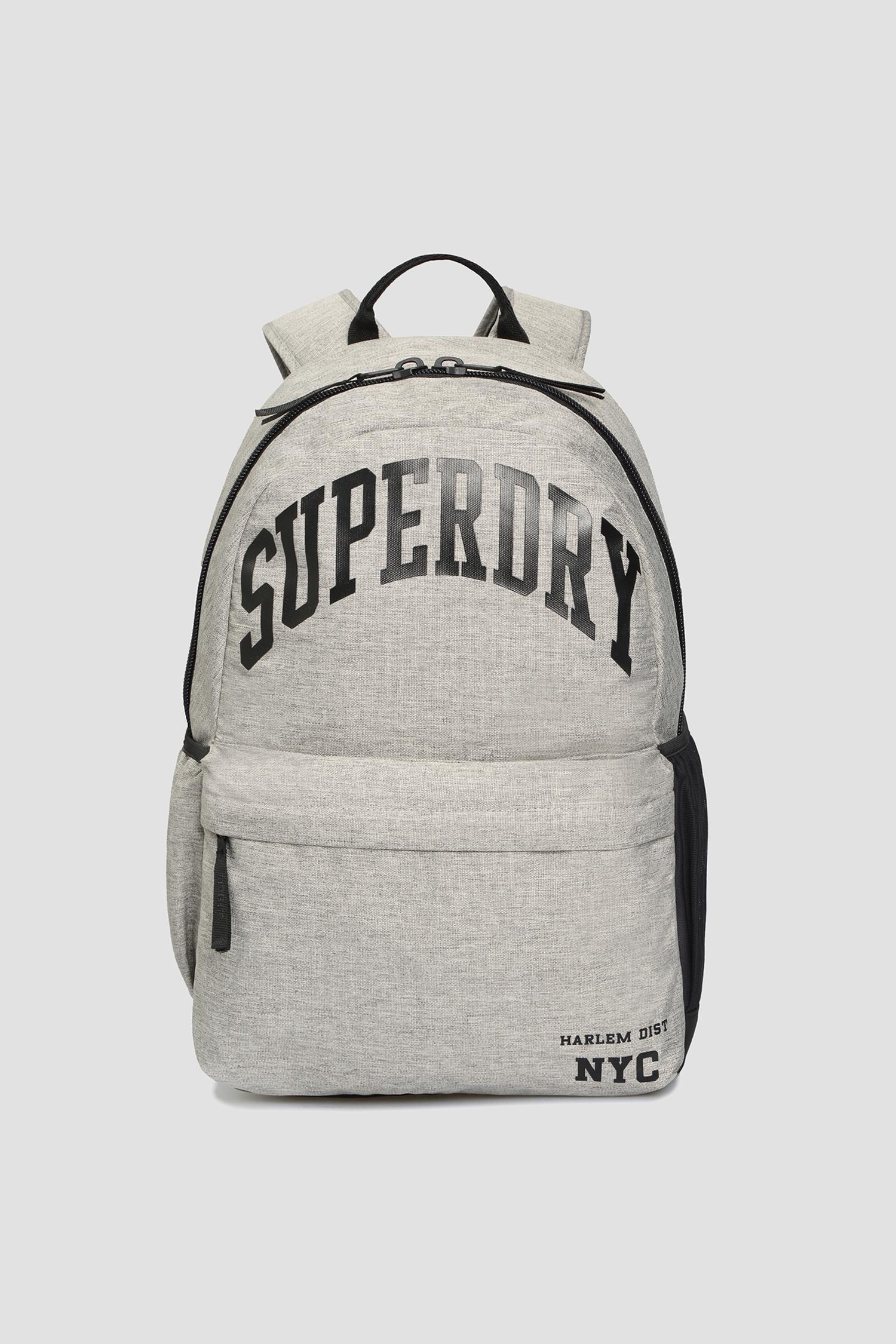 Чоловічий сірий рюкзак SuperDry M9110523A;41Q