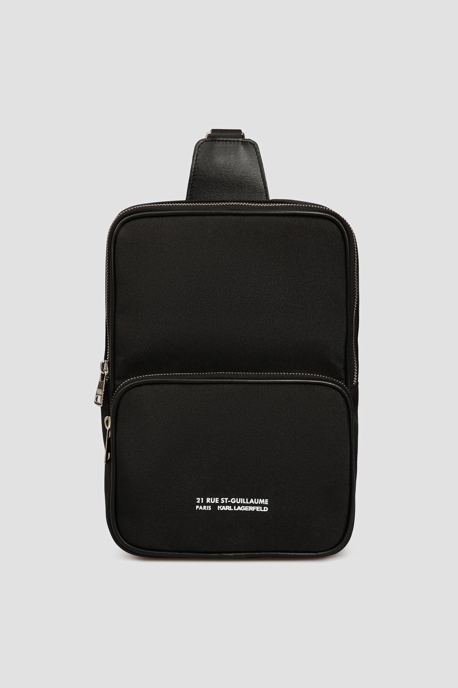 Чоловіча чорна сумка через плече Karl Lagerfeld 501112.805904;990