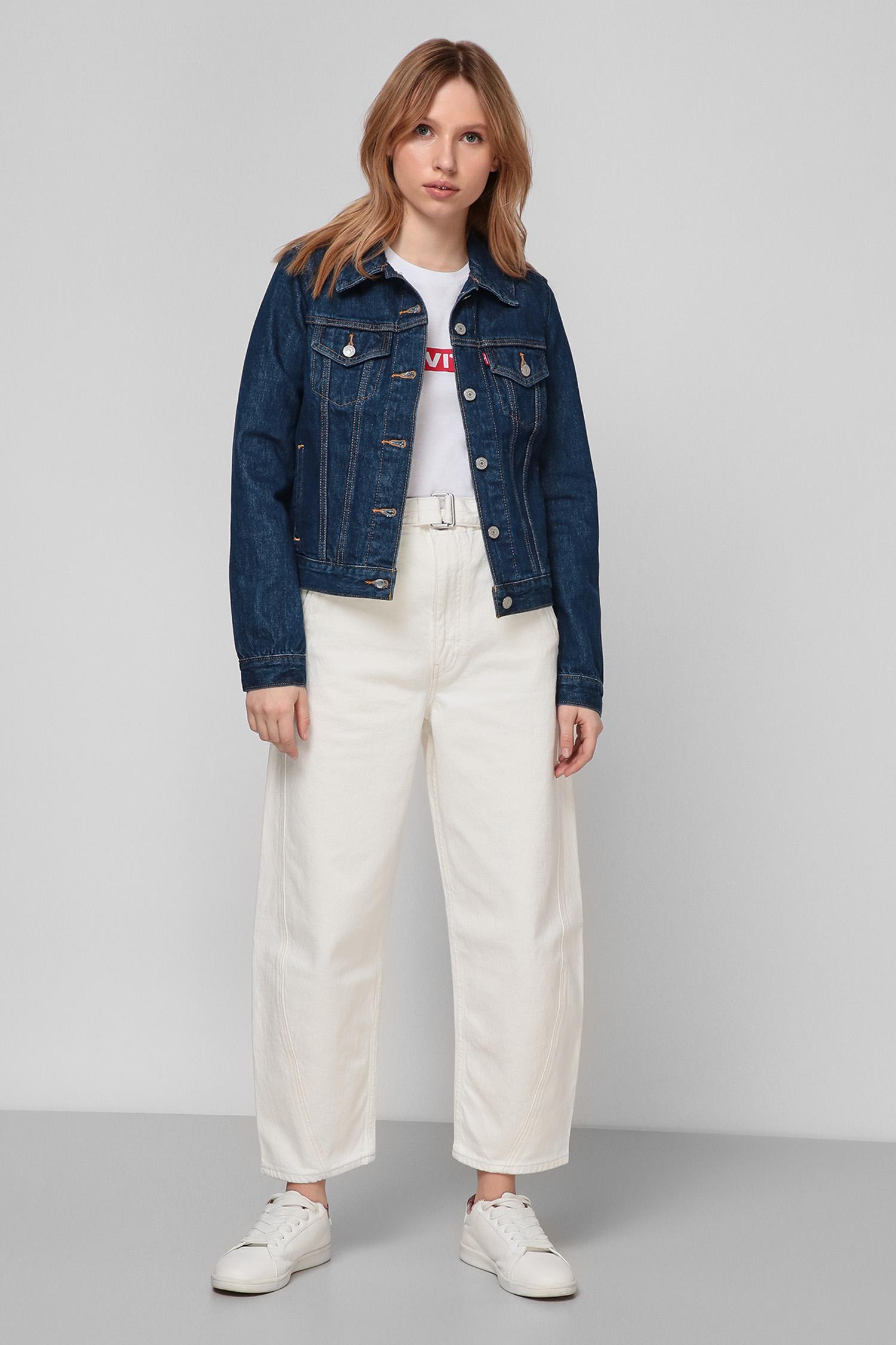 Женская синяя джинсовая куртка Levi's 29945;0036