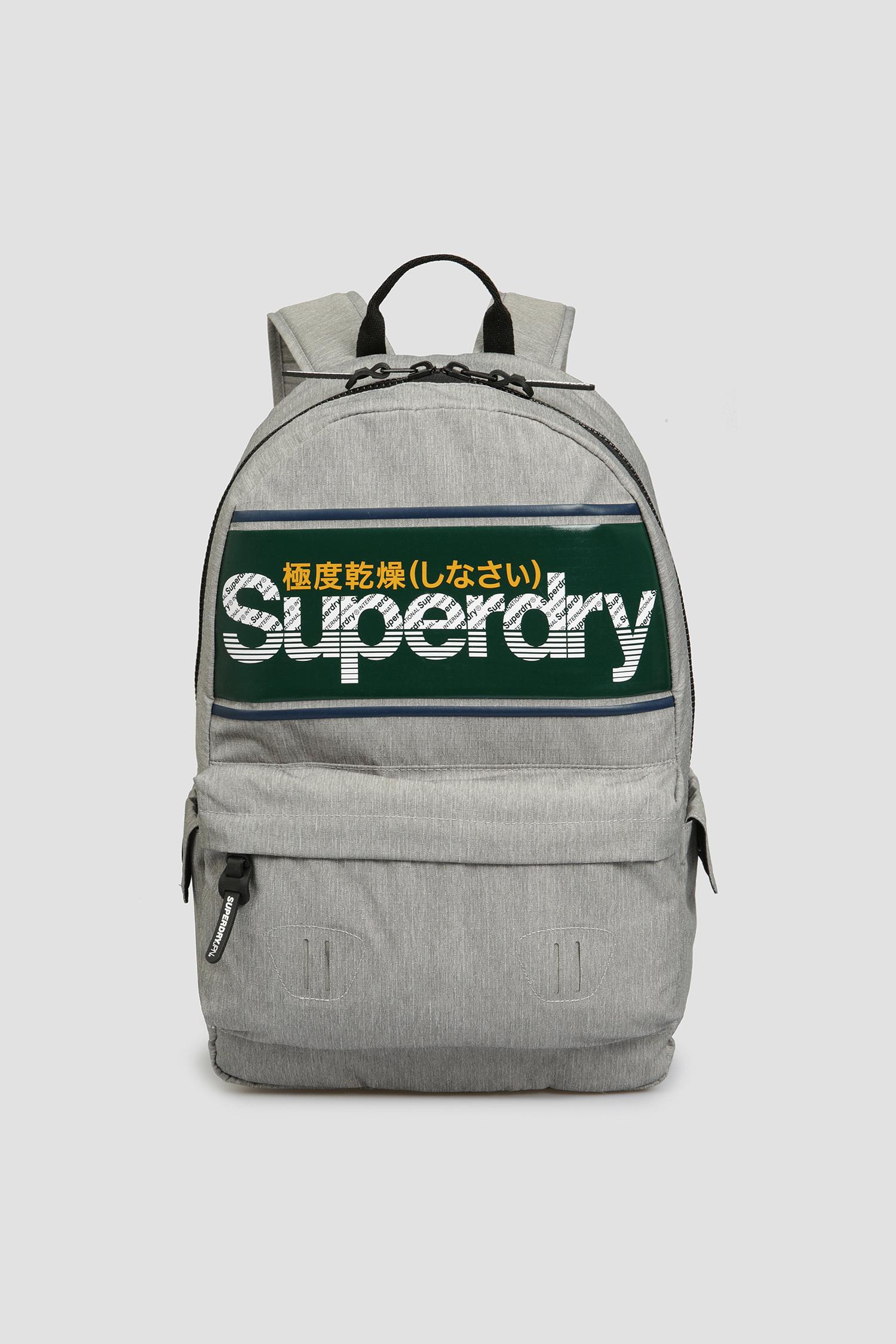 Мужской серый рюкзак SuperDry M9110072A;07Q