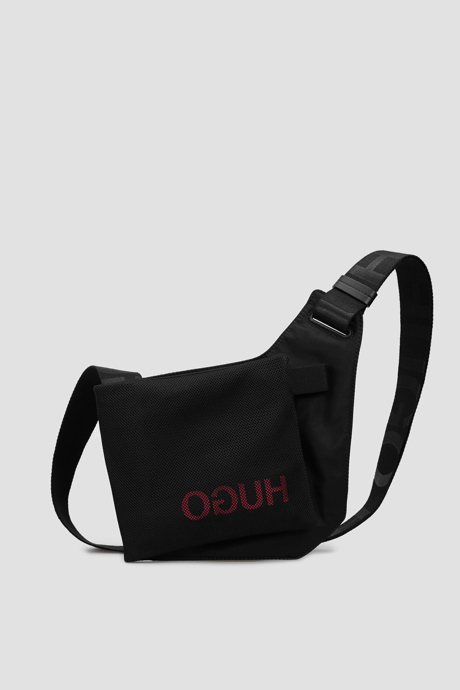 Черная сумка через плечо для парней HUGO 50434824;001