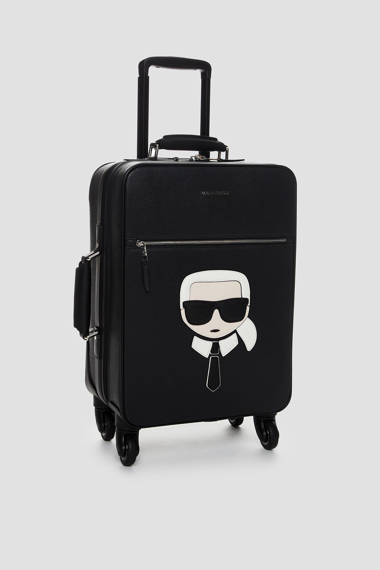Чоловіча чорна валіза Karl Lagerfeld 502199.805910;990