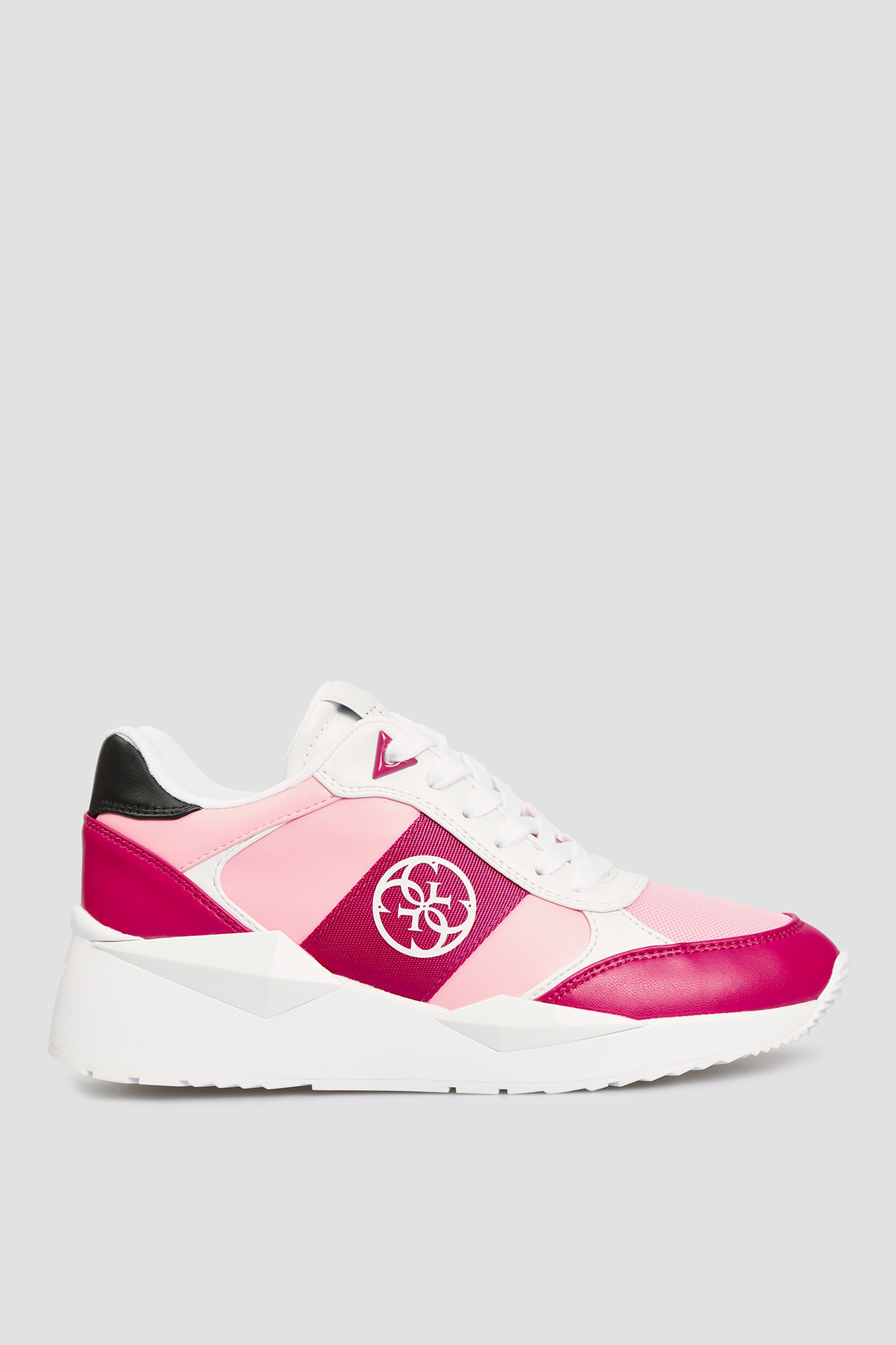 Женские розовые кроссовки Guess FL5TES.ELE12;LPINK