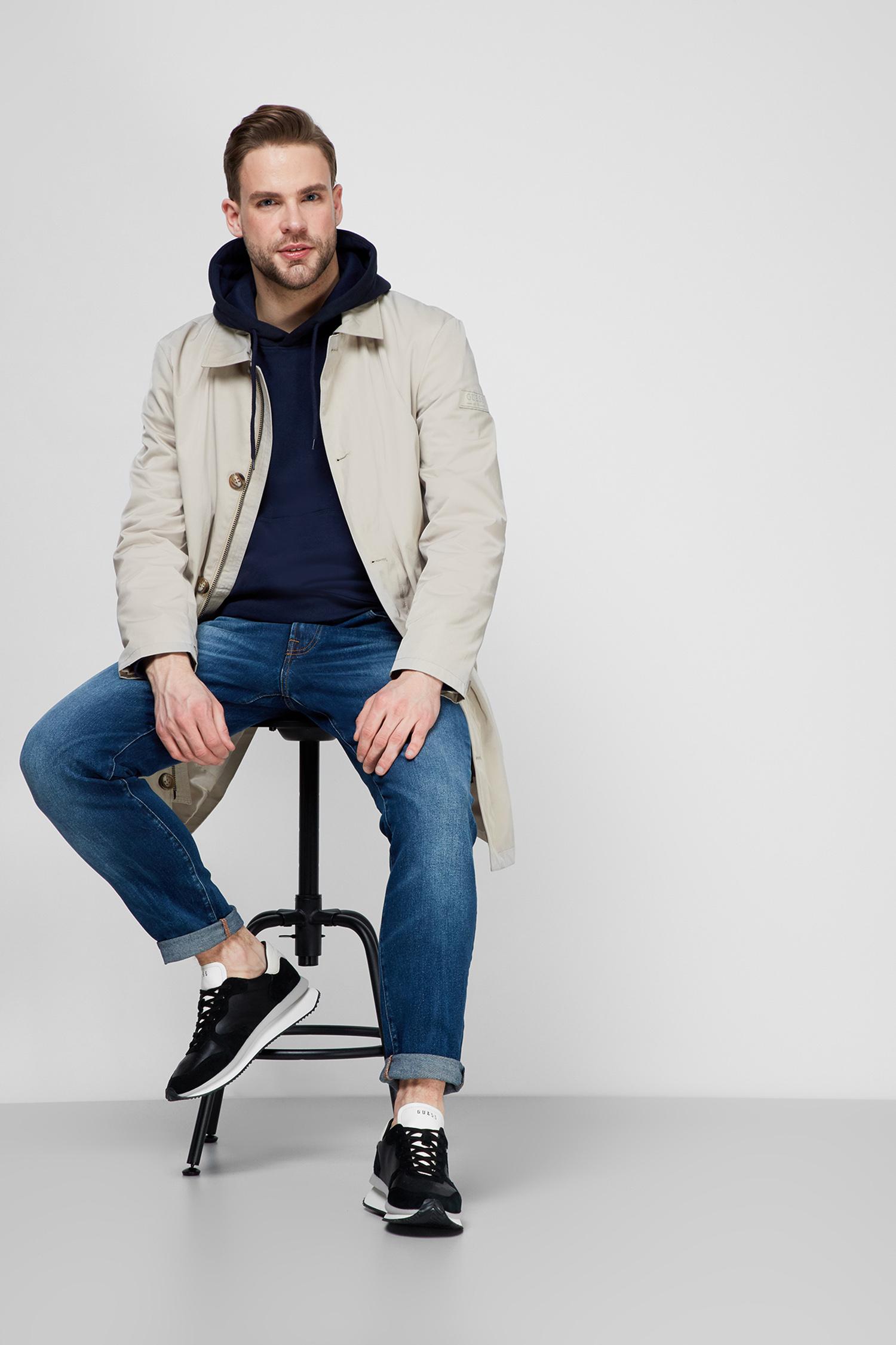 Мужские синие джинсы Drake Regular Guess M1RA37.D46X5;WTLD