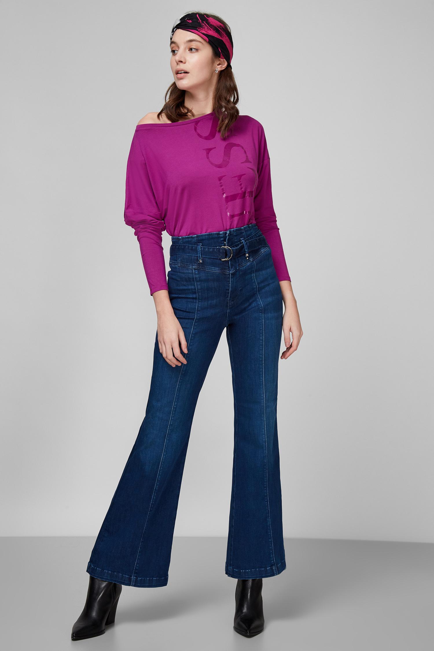 Женские темно-синие джинсы Bootcut Marylou Guess W0YA73.D42J1;HSTA