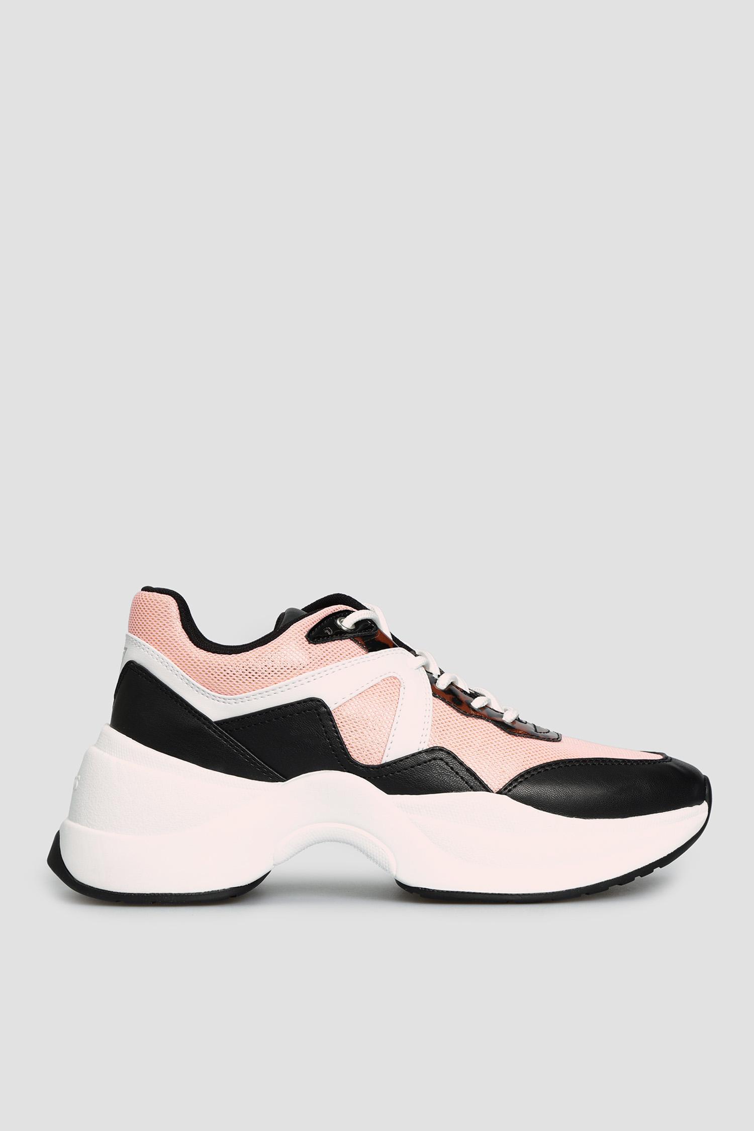 Женские розовые кроссовки Guess FL7JOE.ELE12;PINK