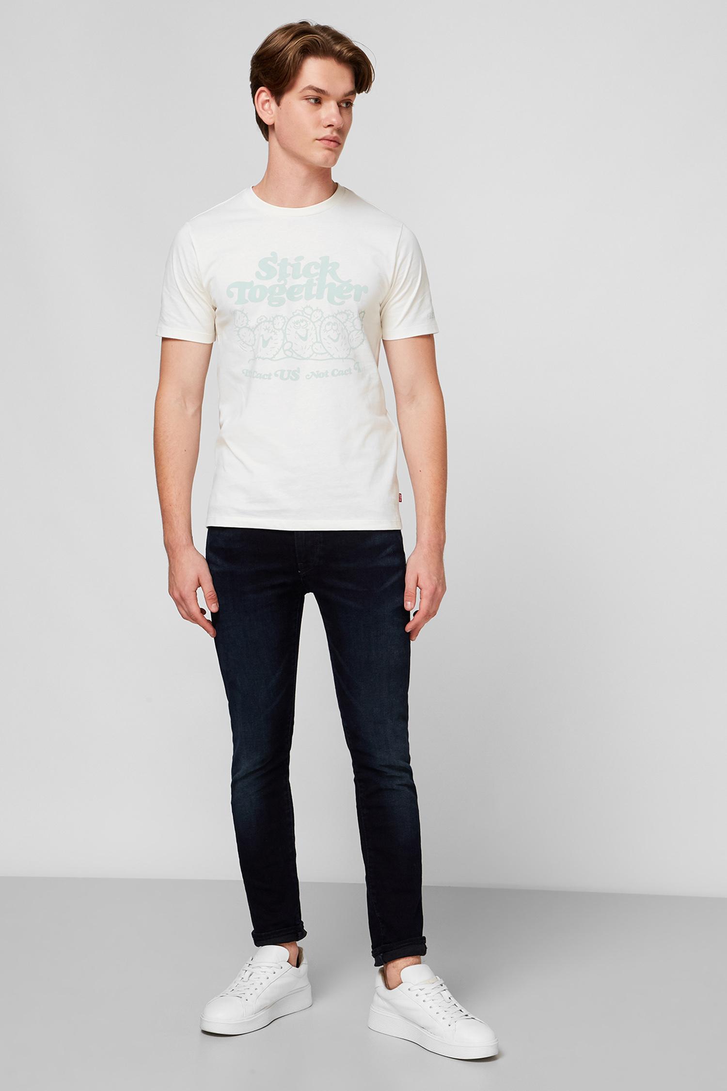Белая футболка для парней Levi's 22491;0737