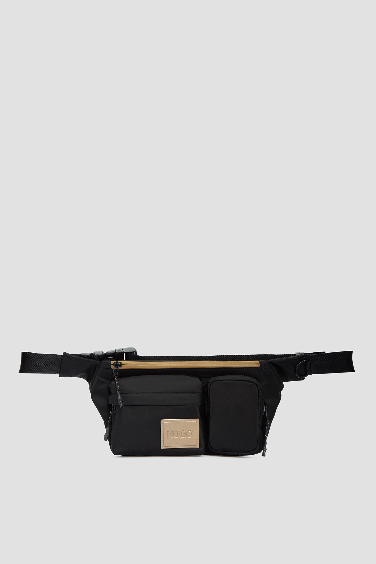 Мужская черная поясная сумка HUGO 50446982;001
