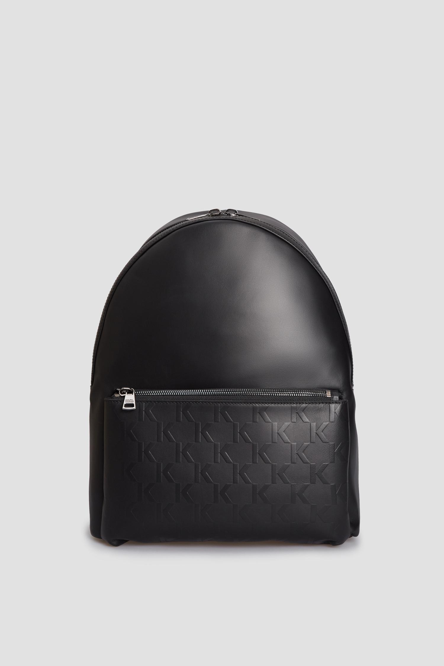 Чоловічий чорний шкіряний рюкзак Karl Lagerfeld 511453.815901;990