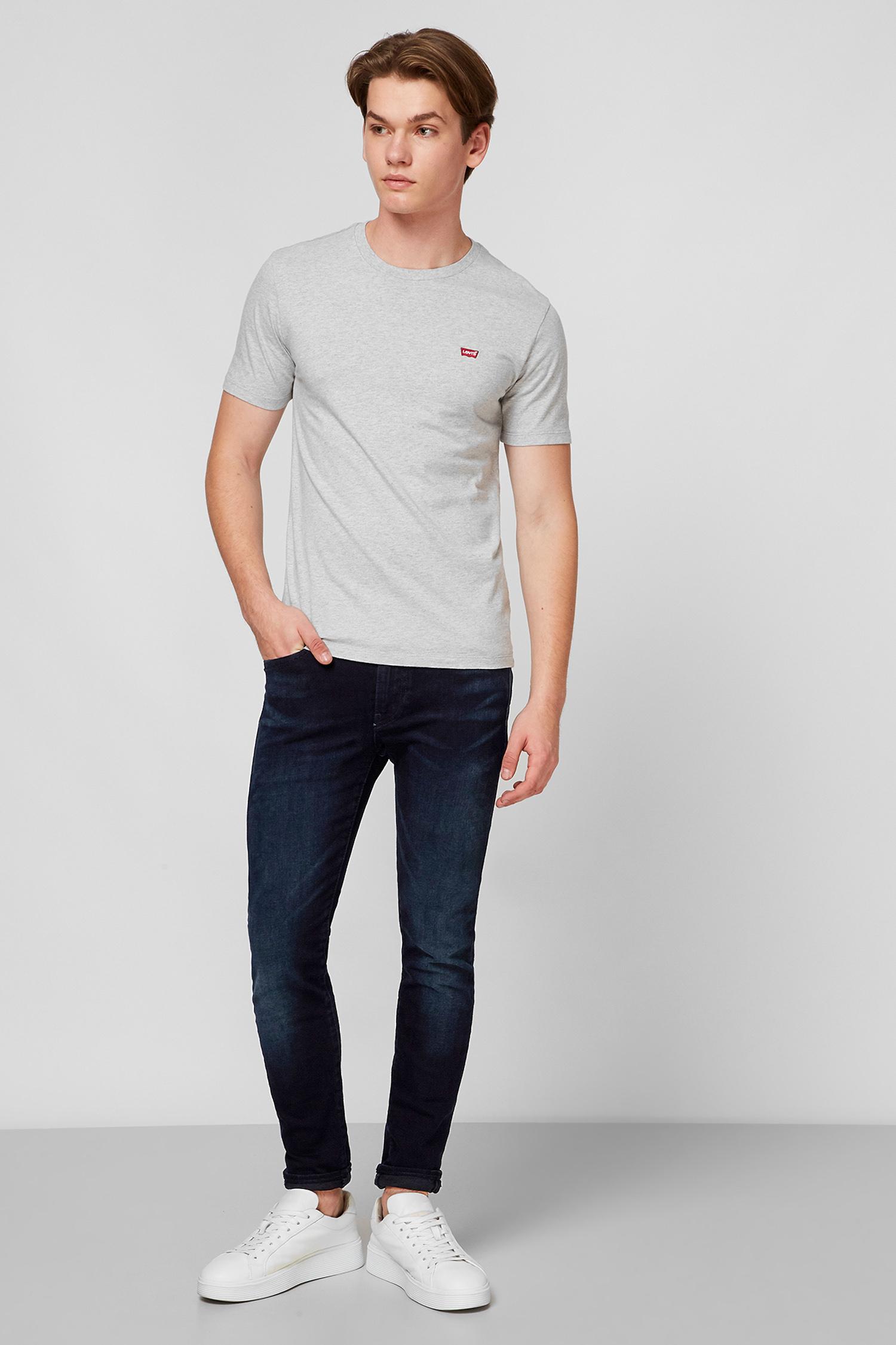Серая футболка для парней Levi's 17164;0015