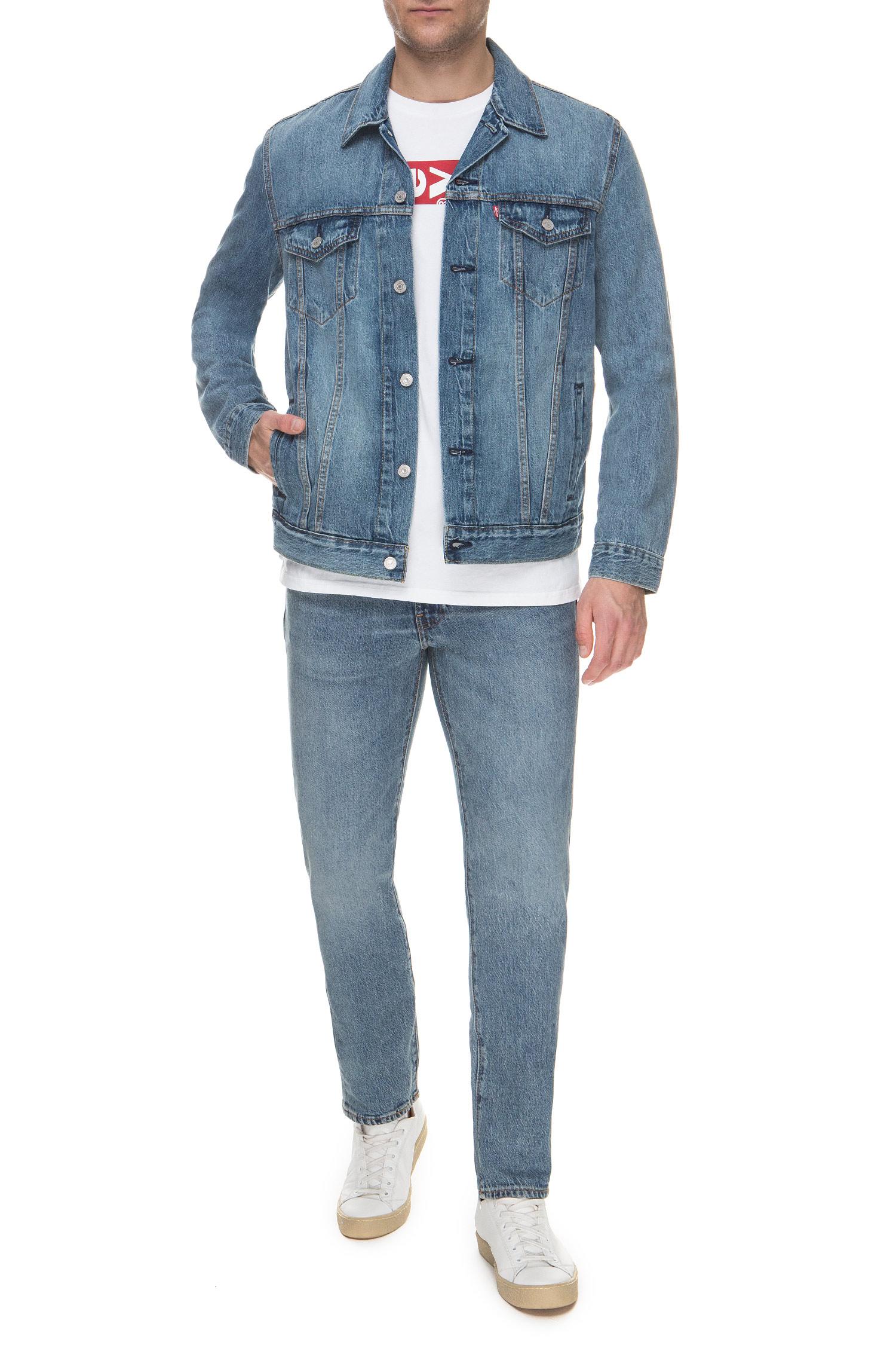 Мужская синяя джинсовая куртка Levi's 72334;0351