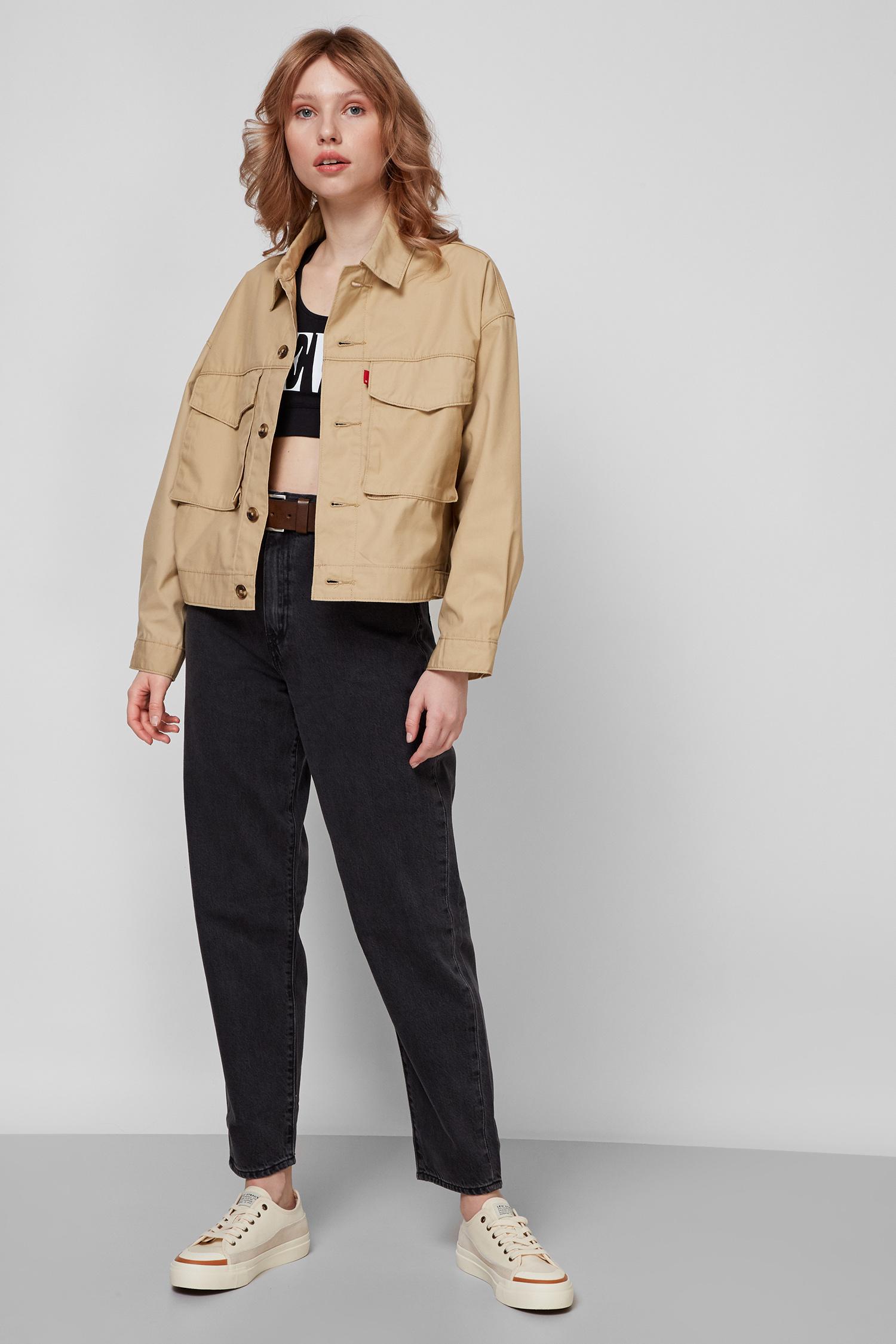 Женская бежевая куртка Levi's 36122;0001