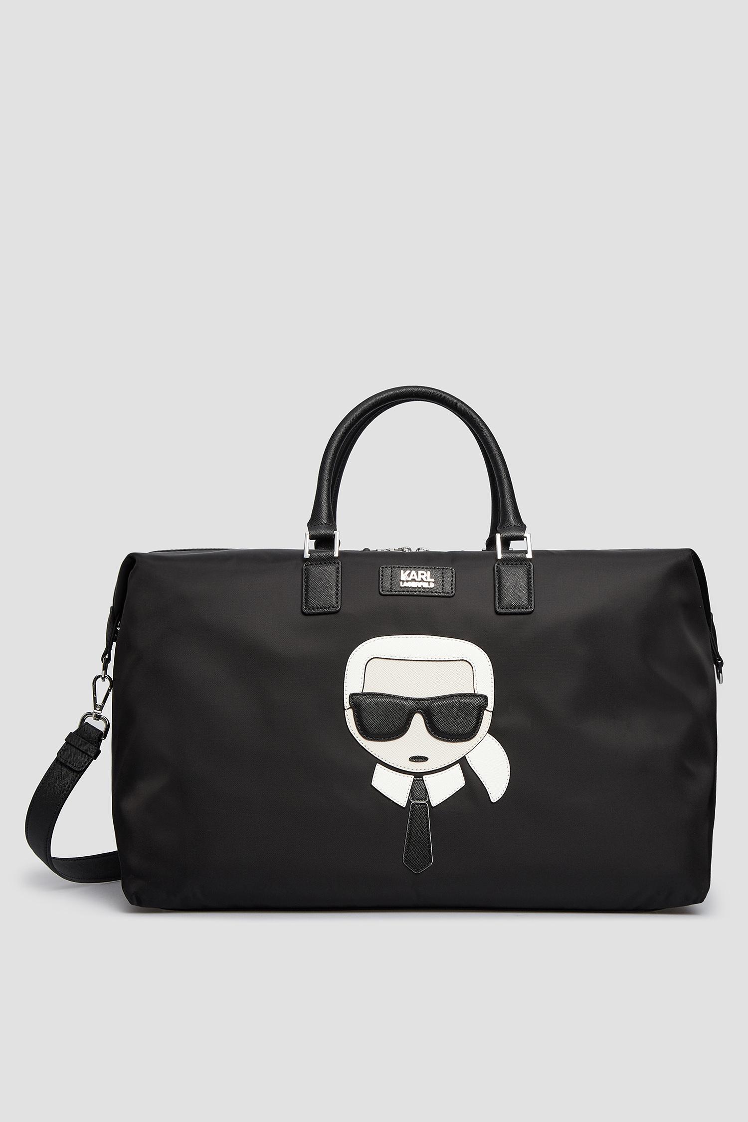 Чоловіча чорна дорожня сумка Karl Lagerfeld 502199.805911;990