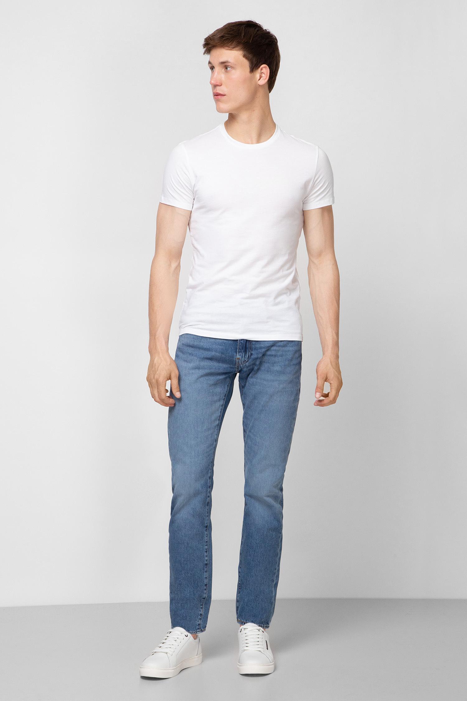 Мужские синие джинсы 502 Taper Ocala Park Ltwt Levi's 29507;0648