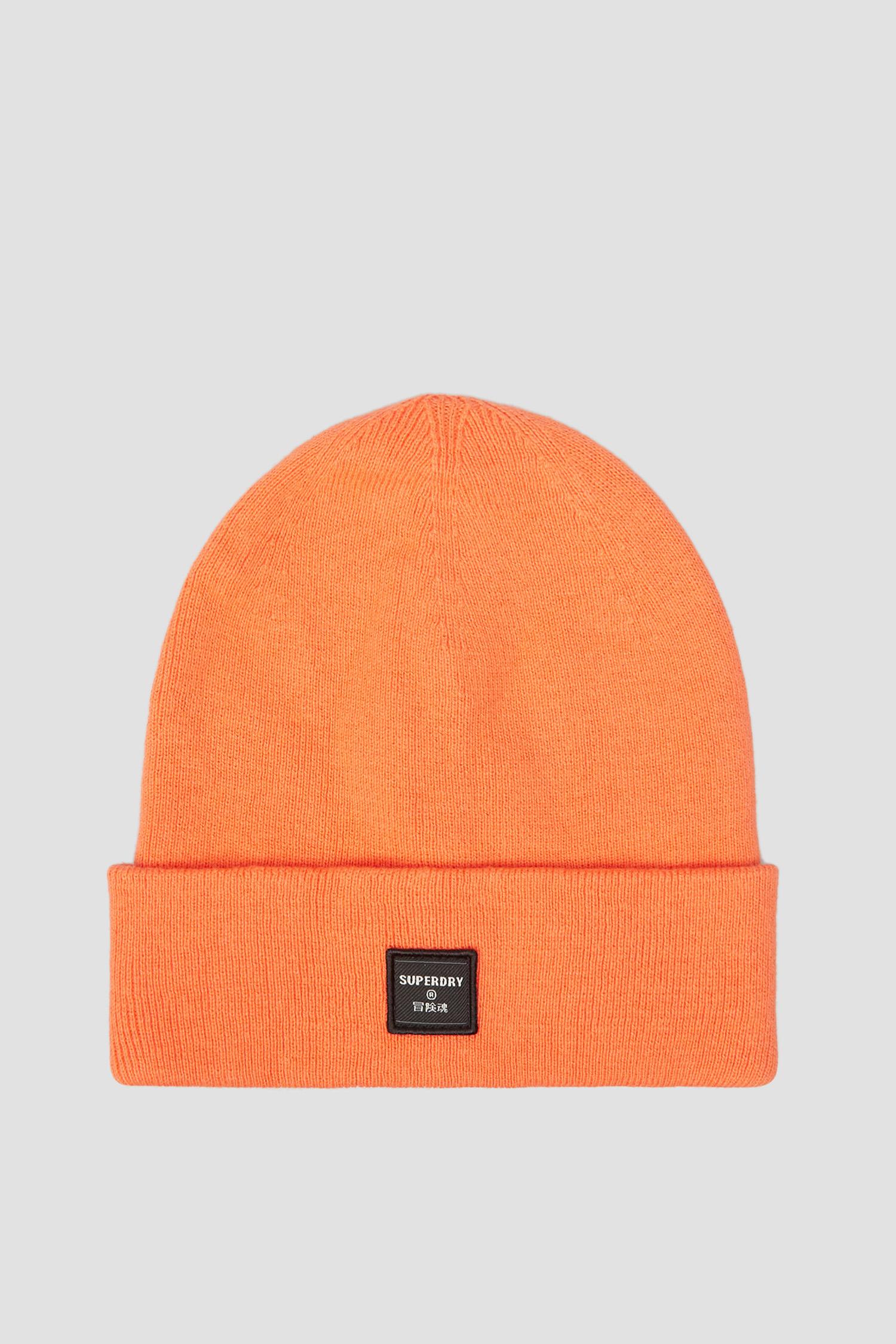 Оранжевая шапка для девушек SuperDry W9010070A;3WL